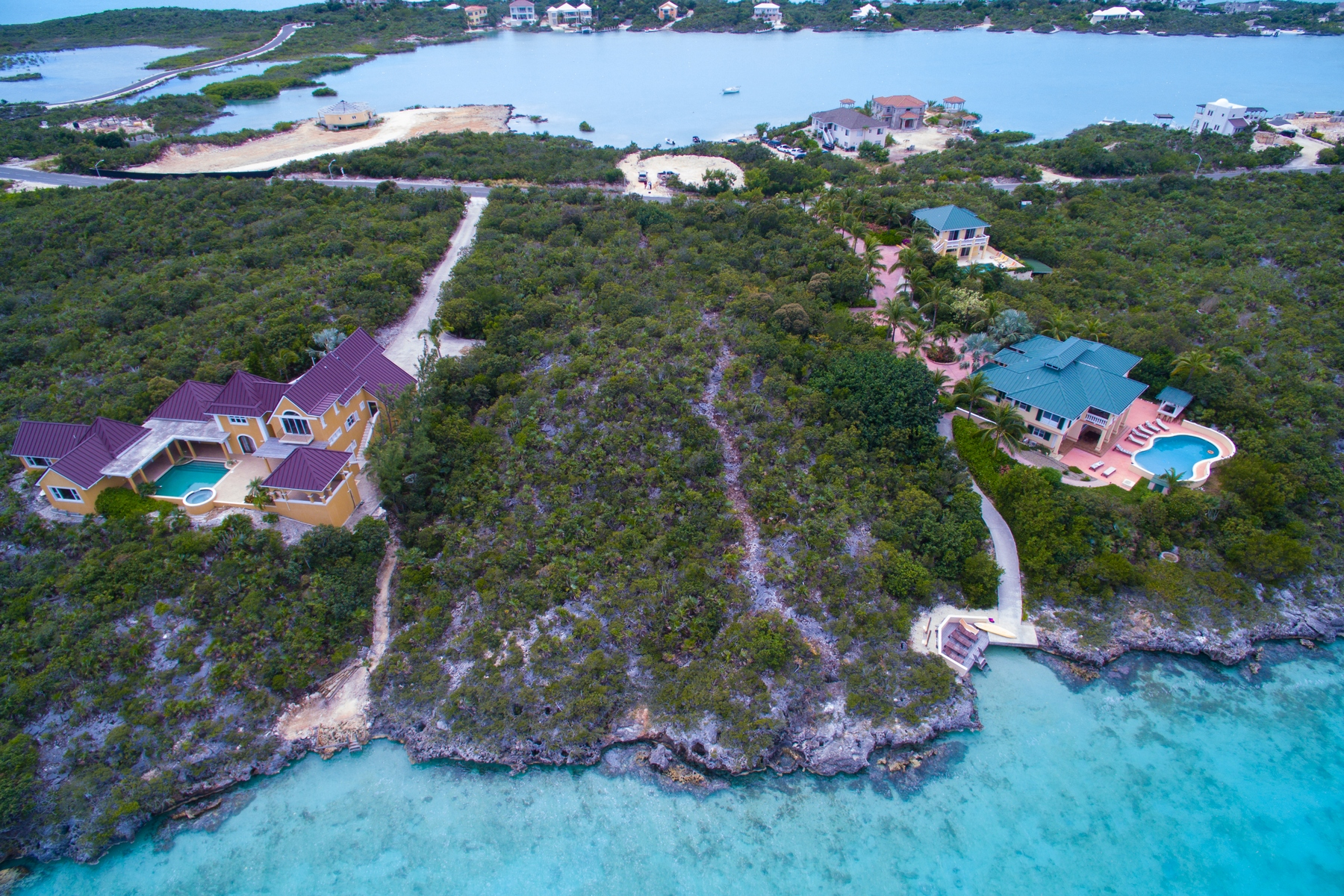 Terrain pour l Vente à Waterfront Lot - Chalk Sound Oceanfront Chalk Sound, Providenciales TC Îles Turques Et Caïques