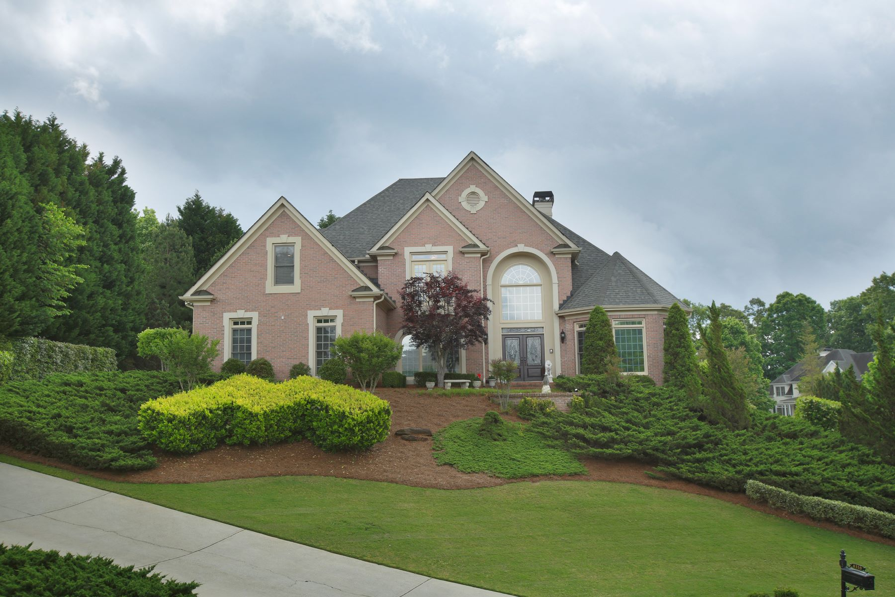 Single Family Home for Sale at A Fabulous Home in a Gated Golf Community 8310 Royal Troon Drive Duluth, Georgia, 30097 United States