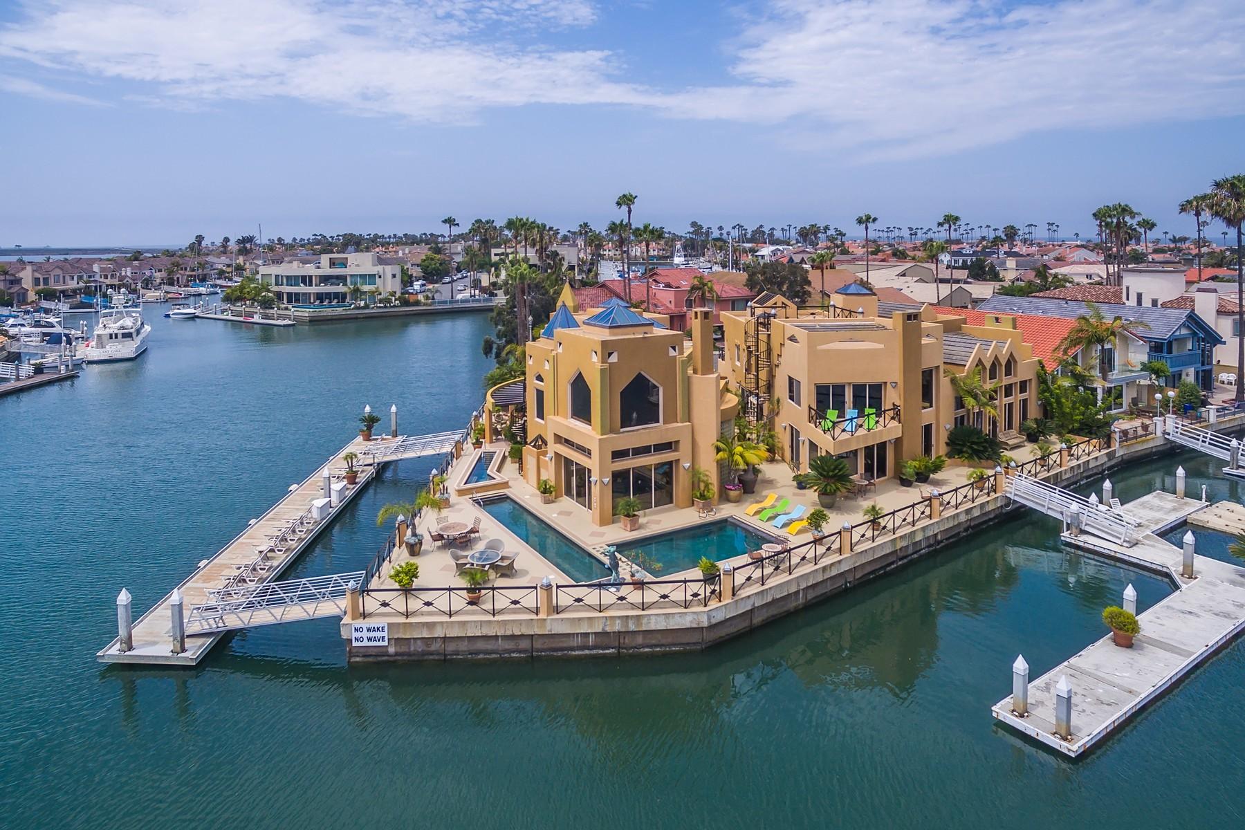 Casa Unifamiliar por un Venta en 3 Blue Anchor Cay Road Coronado, California 92118 Estados Unidos