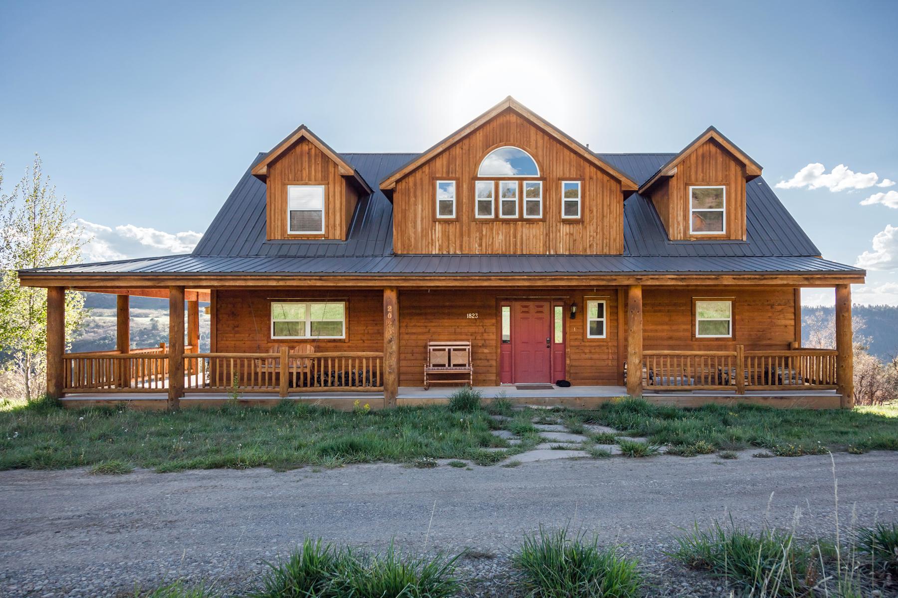 Nhà ở một gia đình vì Bán tại 1823 Green Meadows Lane Placerville, Colorado, 81435 Hoa Kỳ