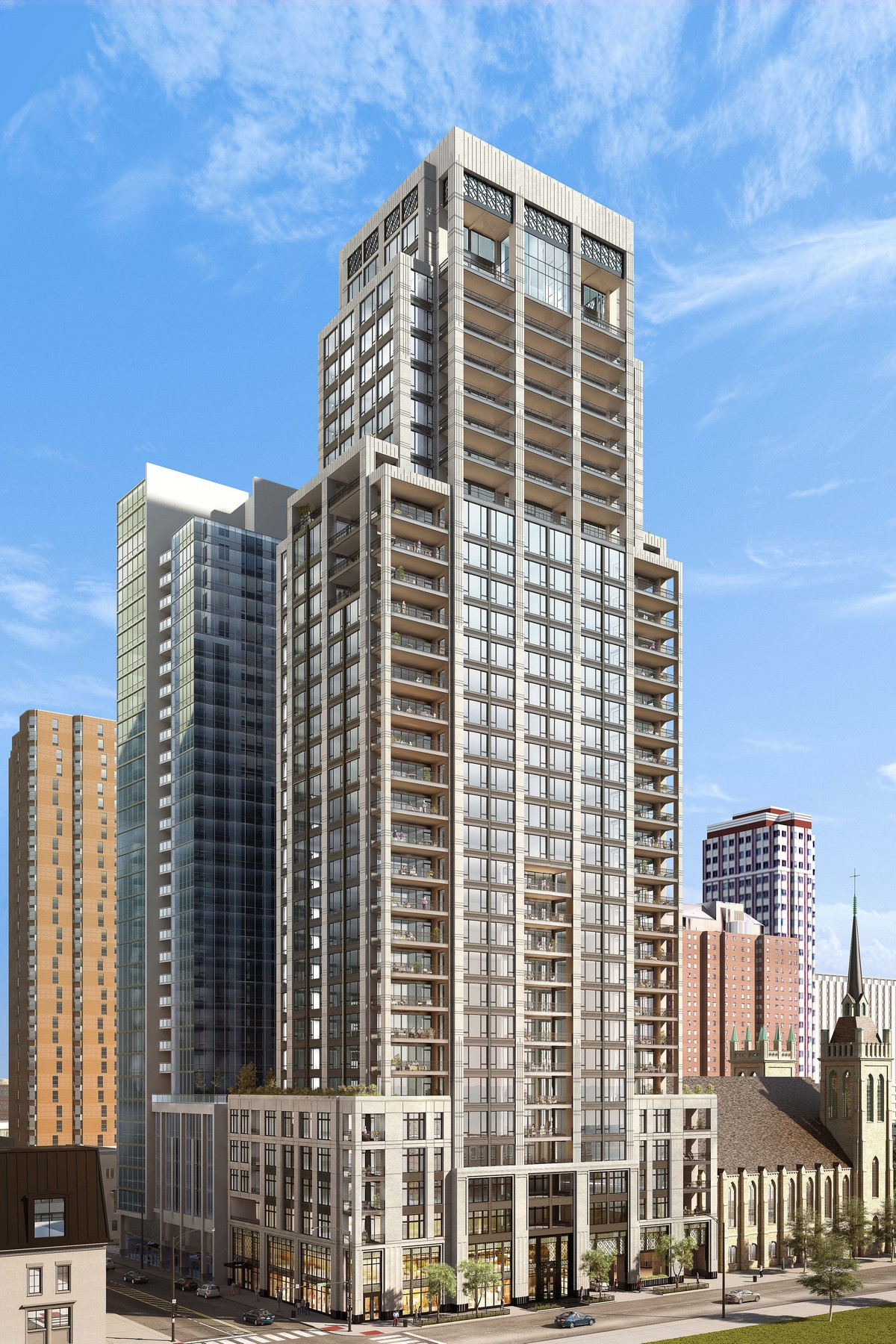 Кондоминиум для того Продажа на The Gold Coast's Newest and Finest Building 9 W Walton Street Unit 2201 Near North Side, Chicago, Иллинойс, 60610 Соединенные Штаты