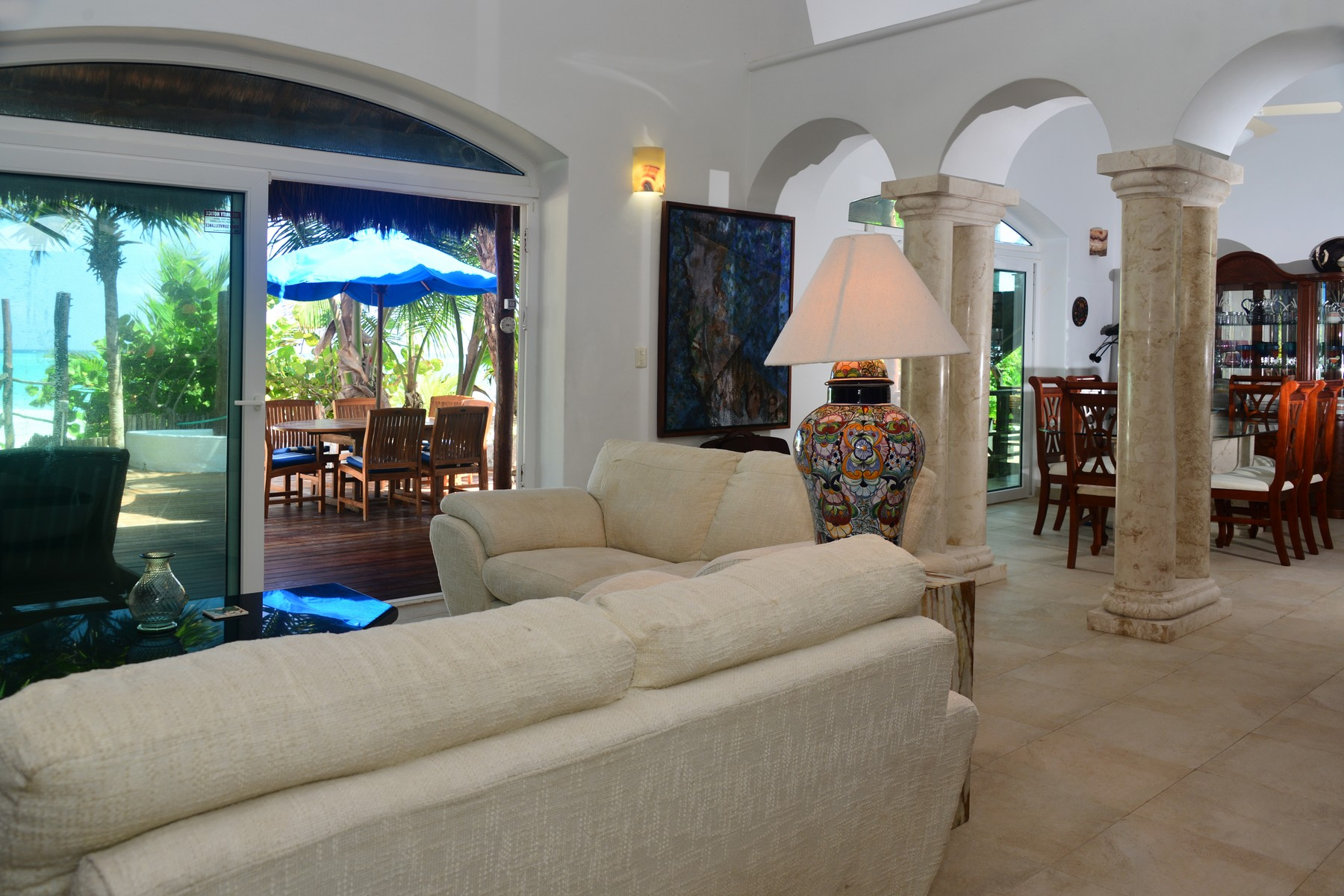 Additional photo for property listing at VILLA DESTINY BEACHFRONT HOME Beachfront Home Camino Tulum-Boca Paila Tulum, Quintana Roo 77087 Mexico