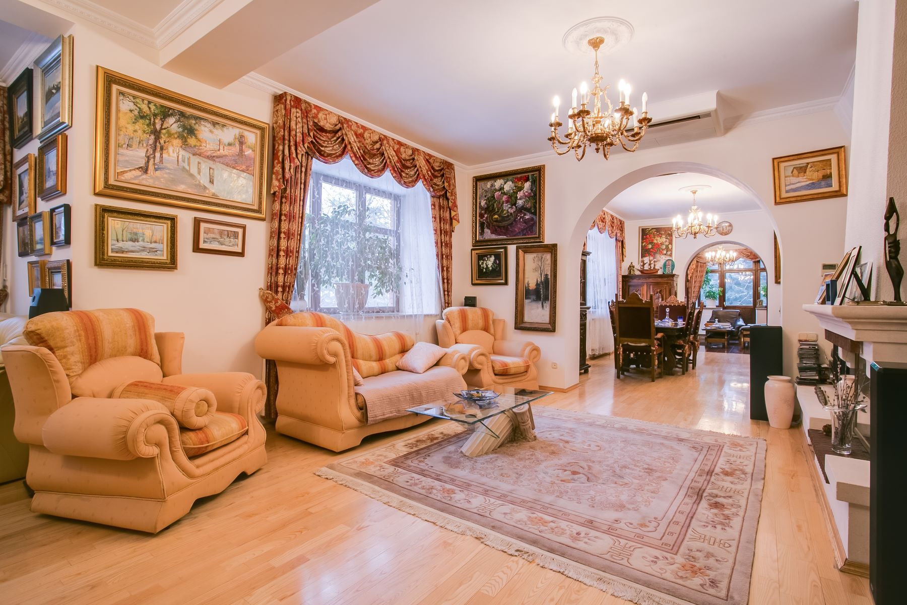 Single Family Home for Sale at The Village of Artists Moscow, Moscow City, Russia