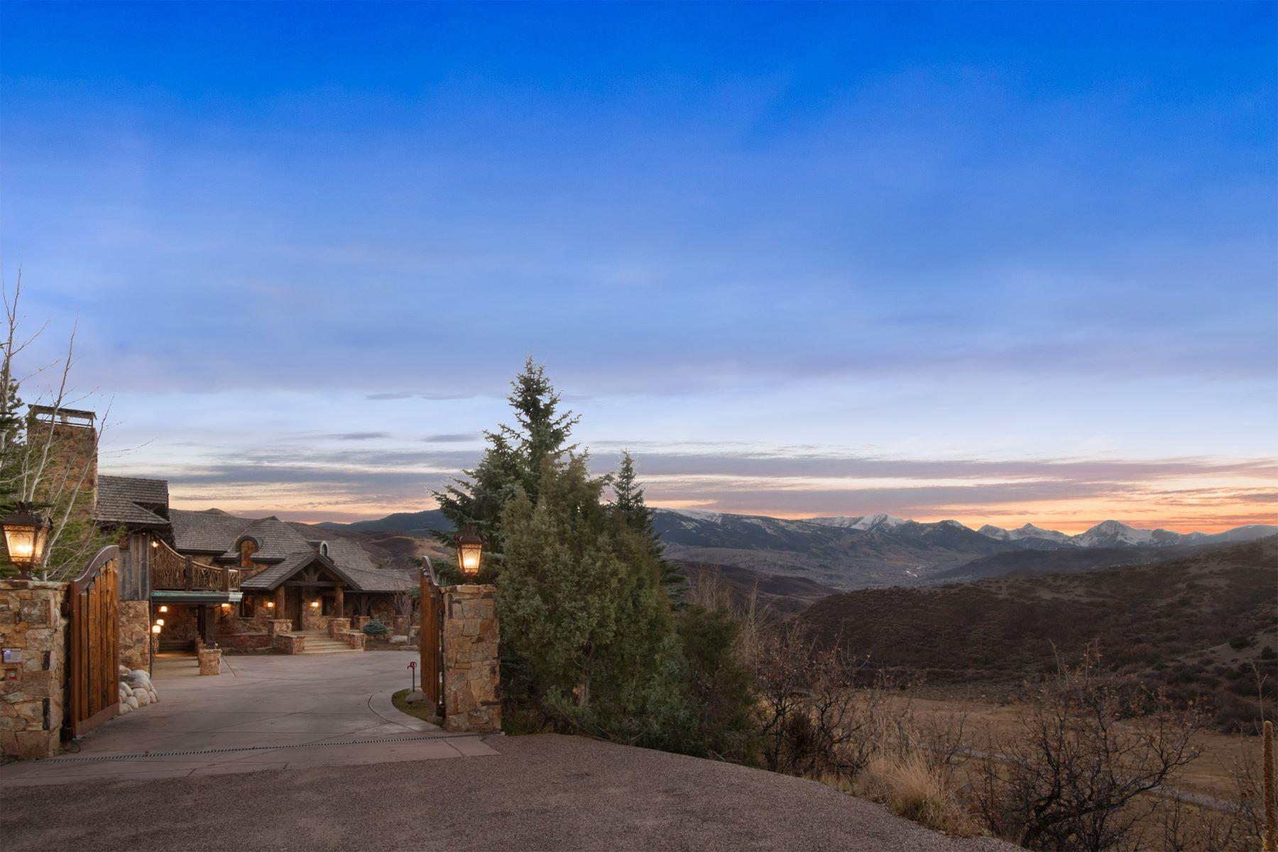Casa para uma família para Venda às Wonderview in Pioneer Springs 780 Pioneer Springs Road Aspen, Colorado, 81611 Estados Unidos