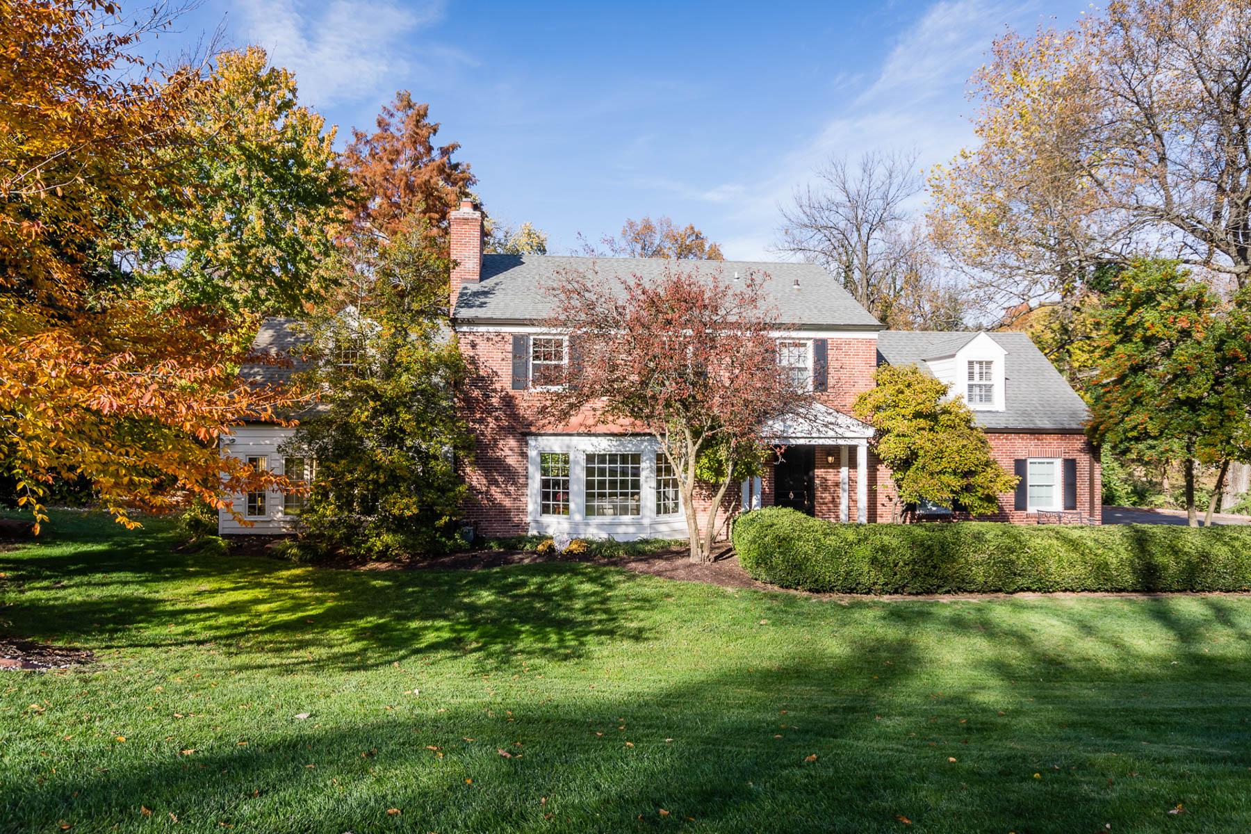 獨棟家庭住宅 為 出售 在 Oakleigh Lane 27 Oakleigh Lane Ladue, 密蘇里州, 63124 美國
