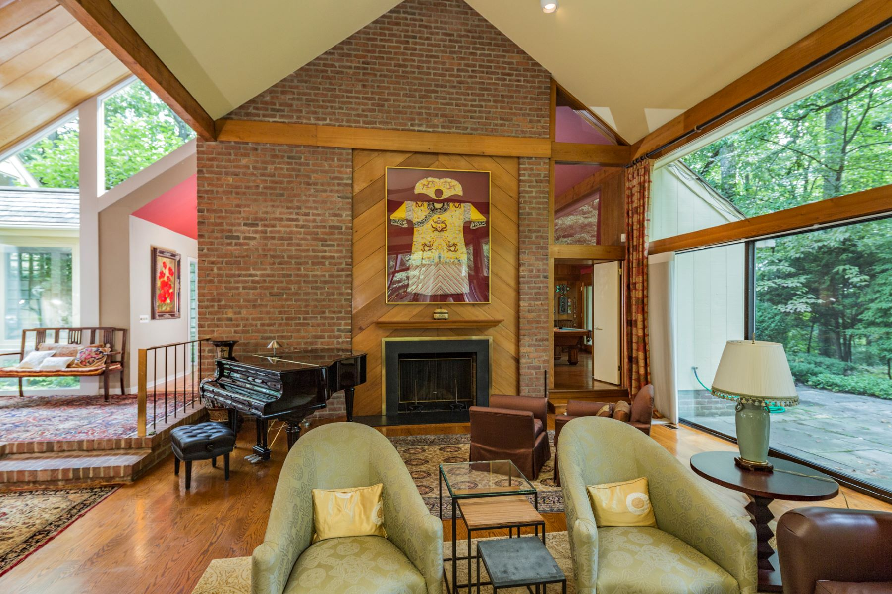 Additional photo for property listing at Impressive Space in Modern Princeton Home 1147 Stuart Road Princeton, Nueva Jersey 08540 Estados Unidos