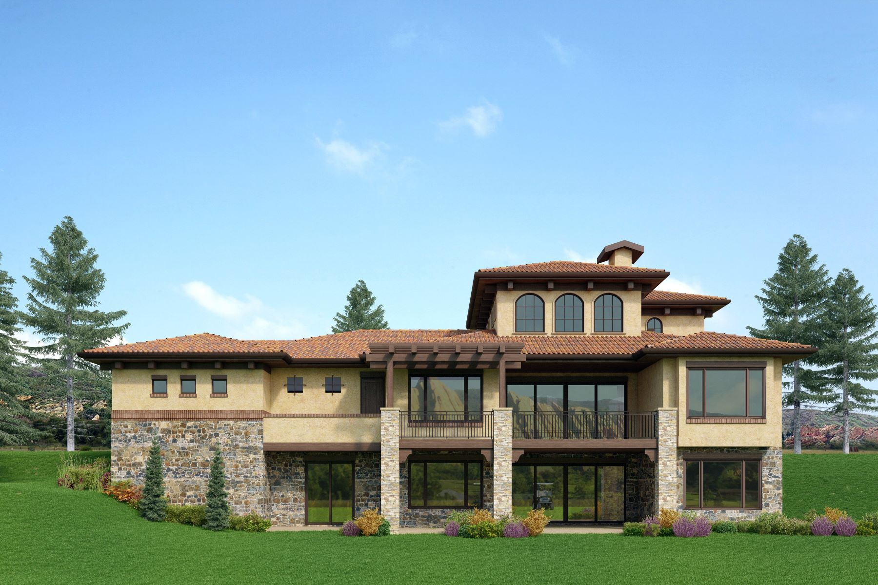 Single Family Home for Active at Custom residence by Sterling Custom Homes 7650 Dante Dr Littleton, Colorado 80125 United States