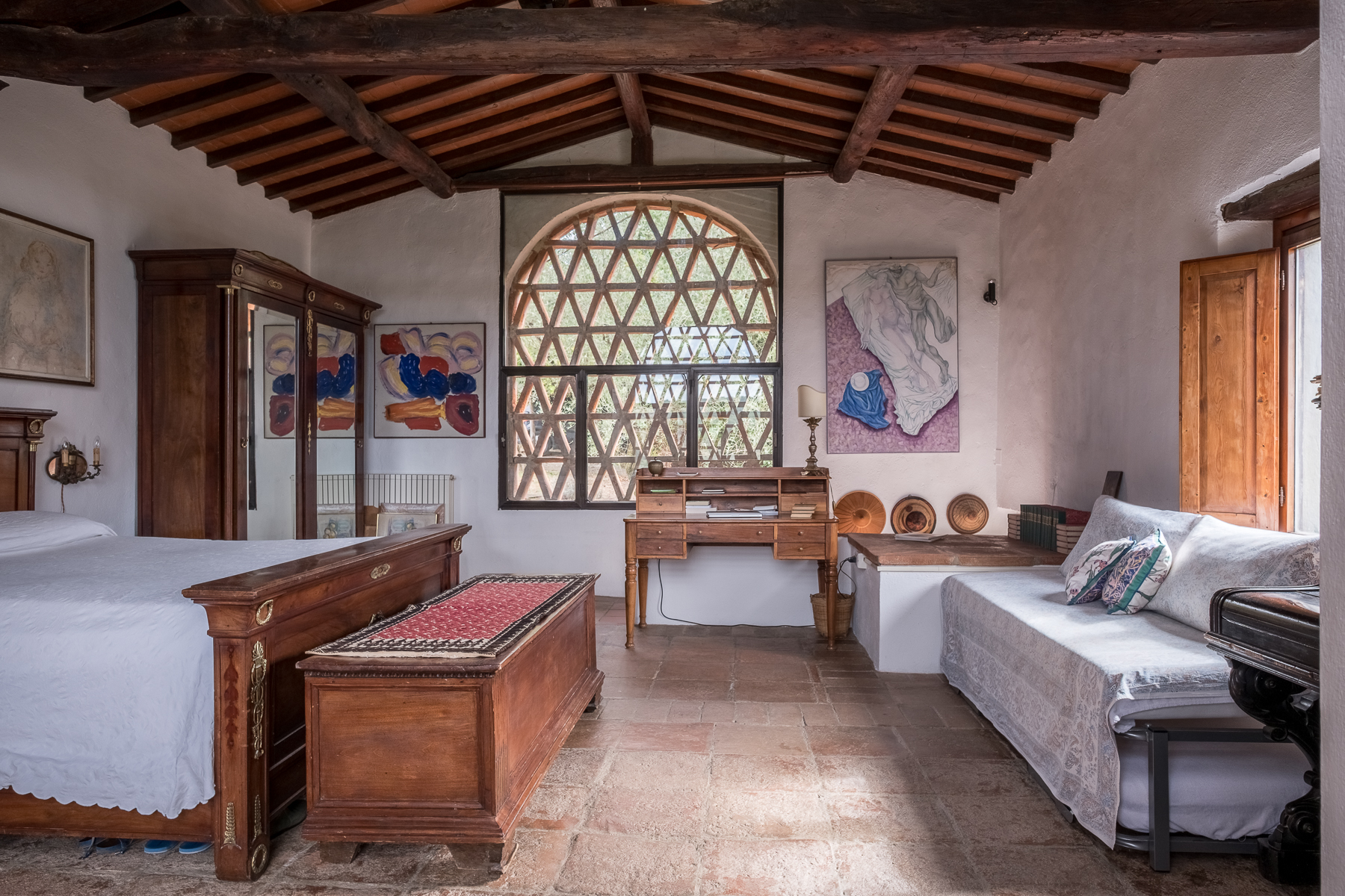 Additional photo for property listing at Farmhouse with swimming pool and lovely views over Florence Bagno A Ripoli, Florence Italia