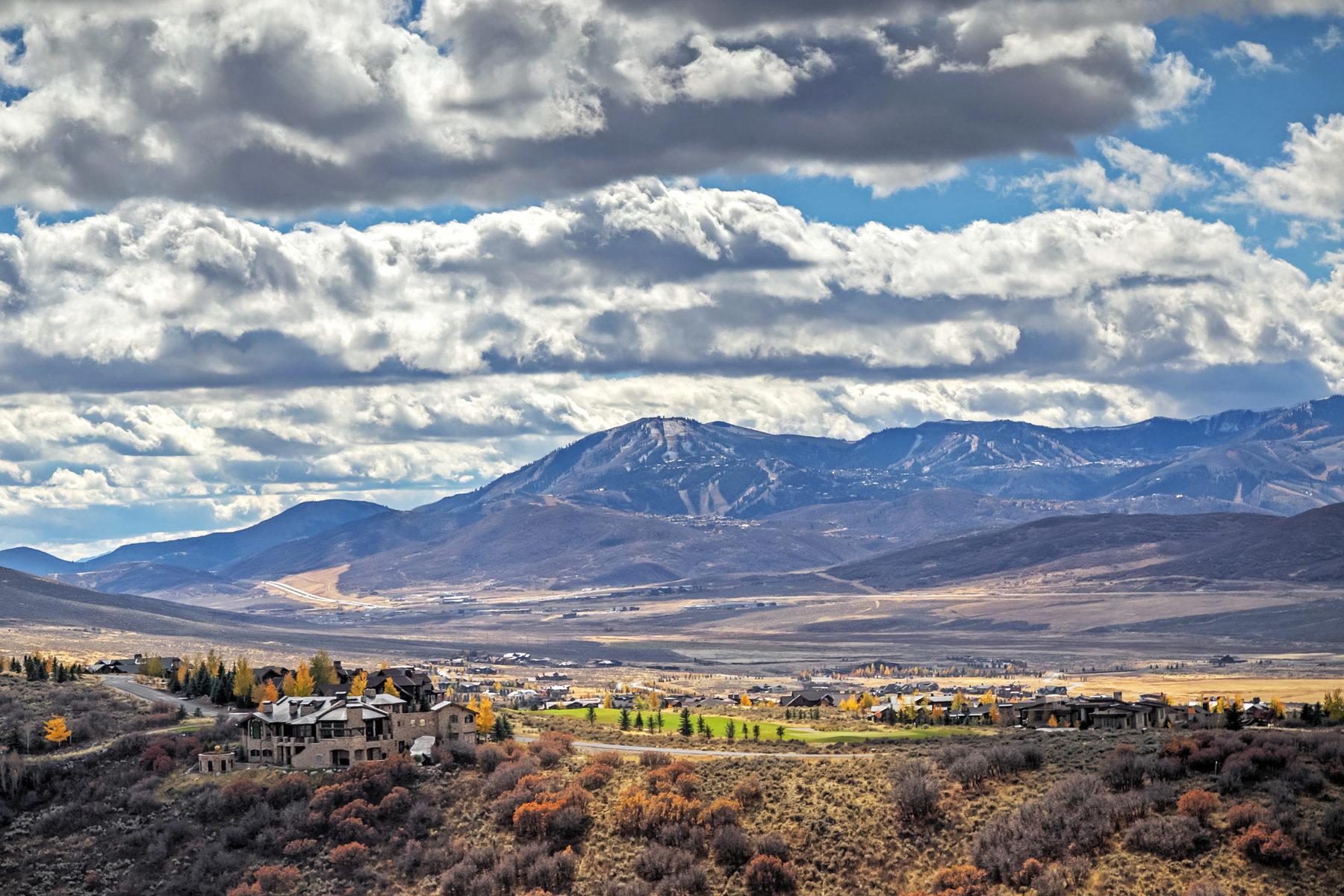Terreno para Venda às Big View Promontory Homesite 8606 N Promontory Ridge Rd Park City, Utah, 84098 Estados Unidos