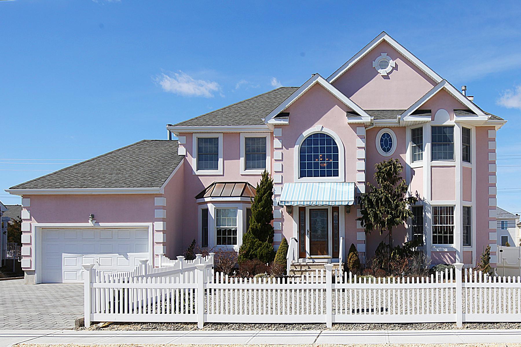 Maison unifamiliale pour l Vente à Custom Designed Colonial Homes 179 N Route 35 Mantoloking, New Jersey, 08738 États-Unis