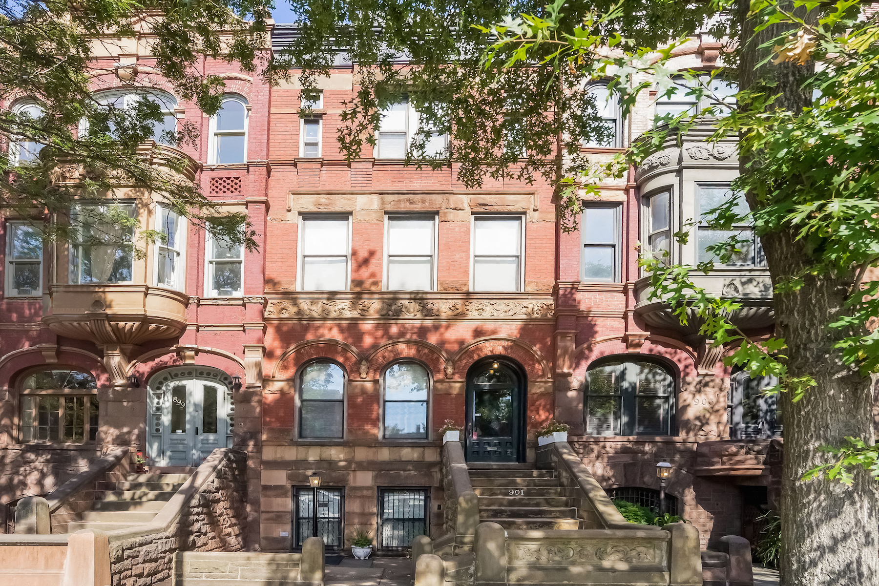 Multi-Family Home for Sale at Elegant Queen Anne Townhome in Park Slope 901 Union Street Brooklyn, New York 11215 United States