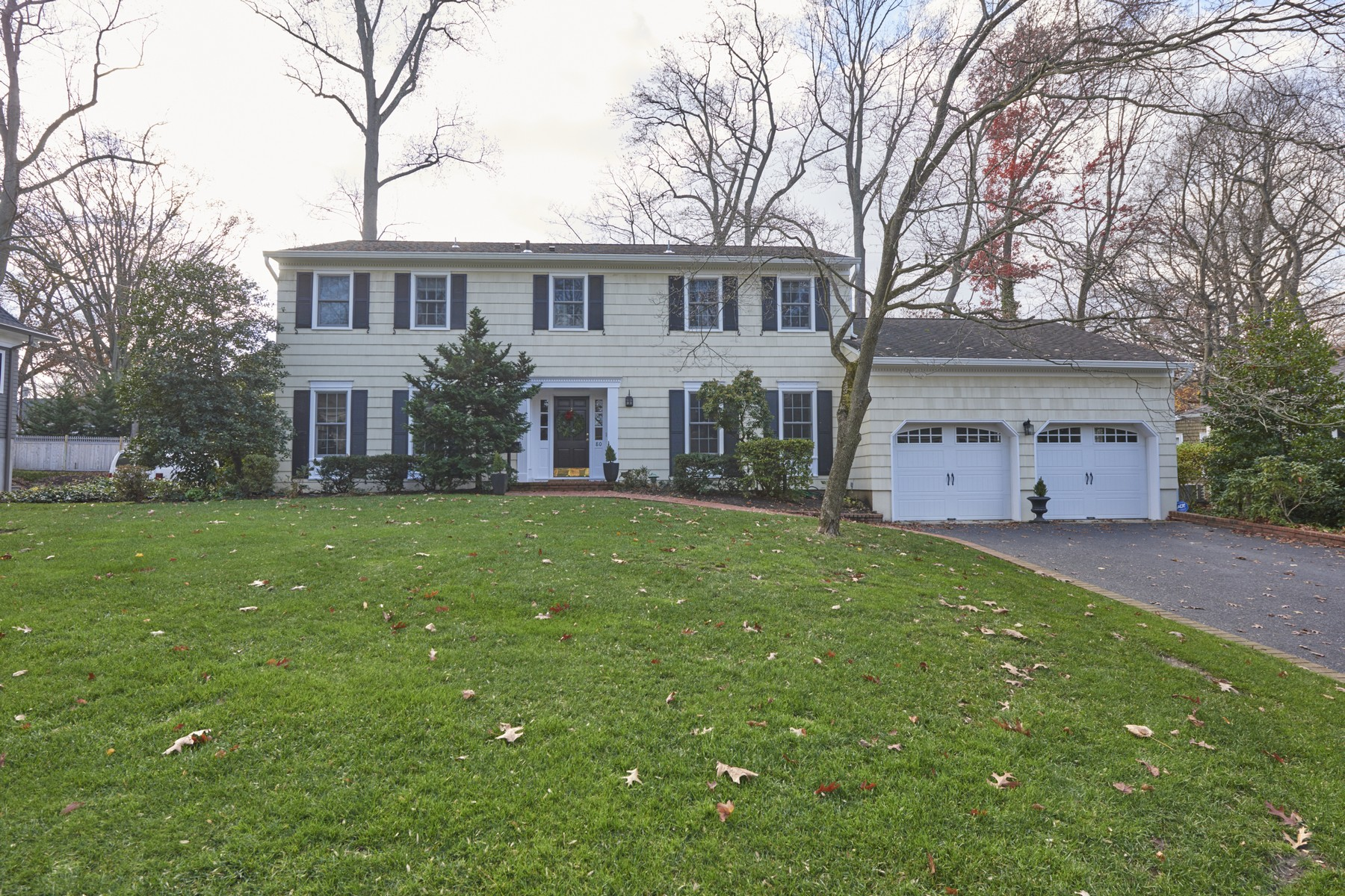 Single Family Home for Sale at Beautiful River Oaks 80 Rustic Ter Fair Haven, New Jersey, 07704 United States
