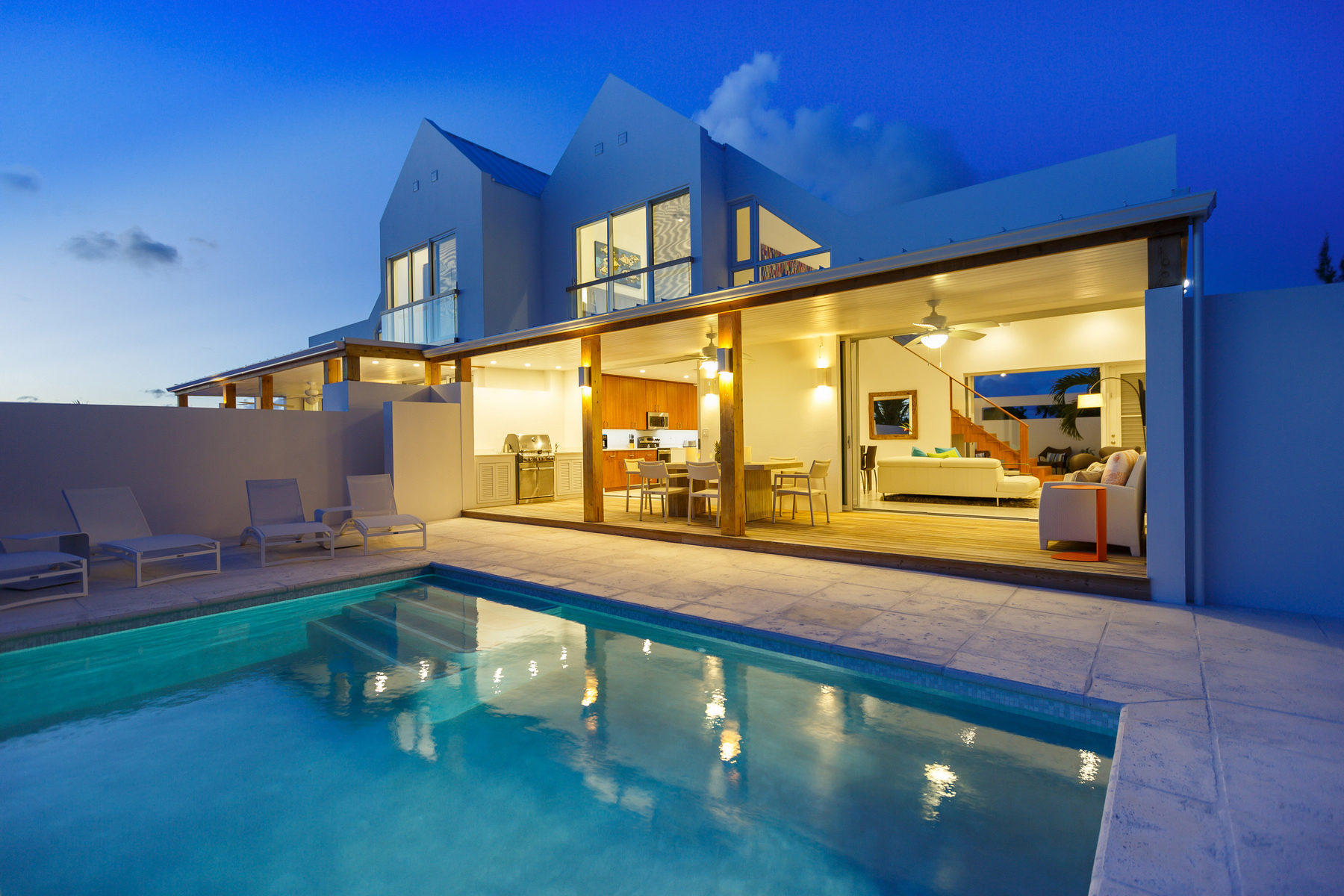 Single Family Home for Sale at Sunset Beach Villas - Design A Gardenview Leeward, TC Turks And Caicos Islands
