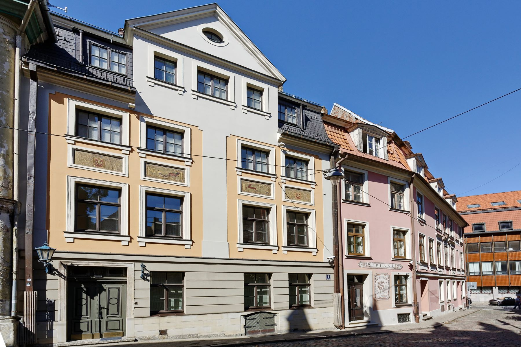 独户住宅 为 销售 在 The house ownership in the heart of the Old Town 里加, 拉脱维亚的其他地区, 拉脱维亚
