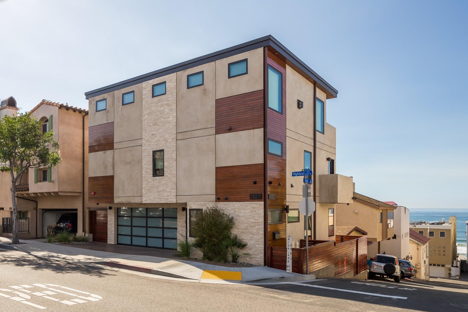 Casa para uma família para Venda às 232 30th Pl Manhattan Beach, Califórnia, 90266 Estados Unidos