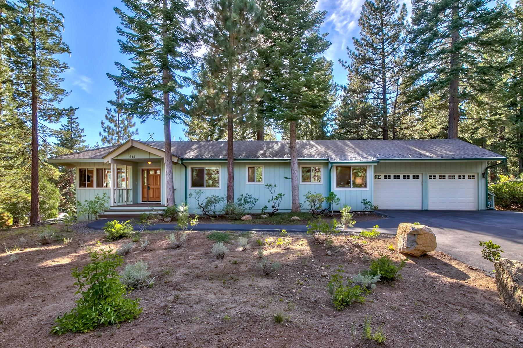 Casa Unifamiliar por un Venta en 645 Anderson Drive Incline Village, Nevada, 89451 Lake Tahoe, Estados Unidos