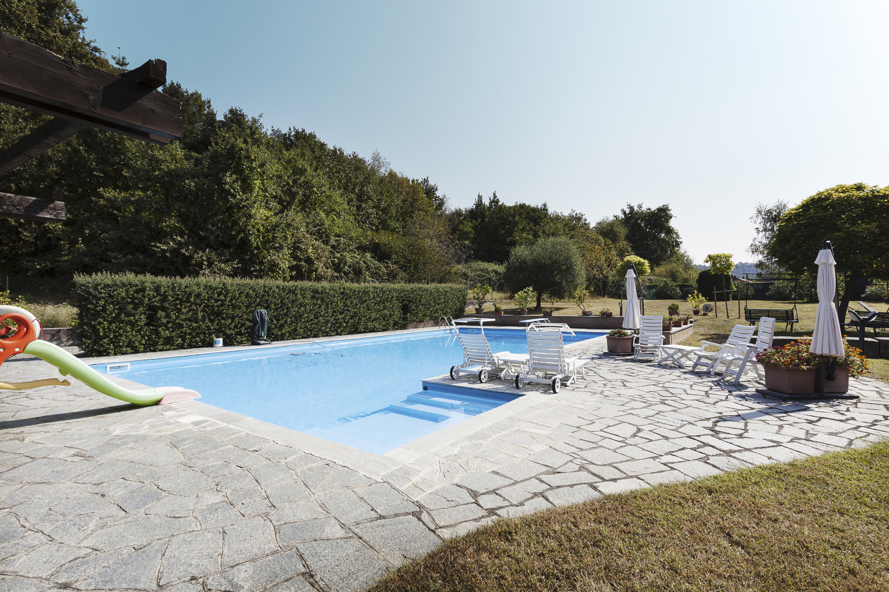 Additional photo for property listing at Unique Villa with swimming pool Piazza Rampone Biella, Biella 13883 Italia