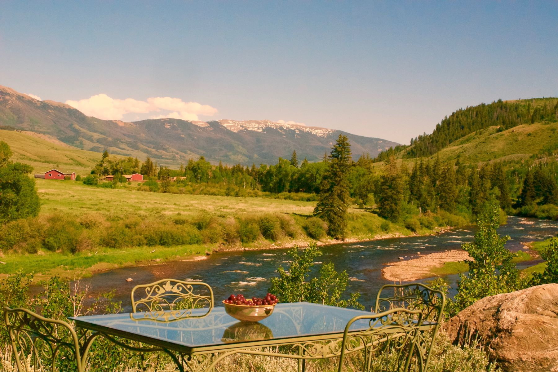 Single Family Home for Active at Blue River Frontage on 24 Acres 1350 Heeney Road CR 30 Silverthorne, Colorado 80498 United States