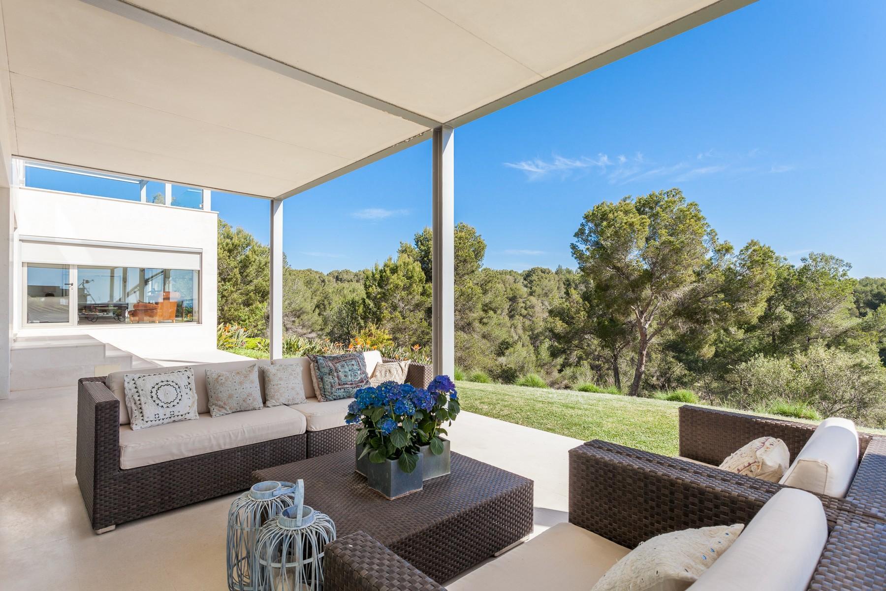 Einfamilienhaus für Verkauf beim Moderne Villa in Sol de Mallorca Santa Ponsa, Mallorca, 07181 Spanien