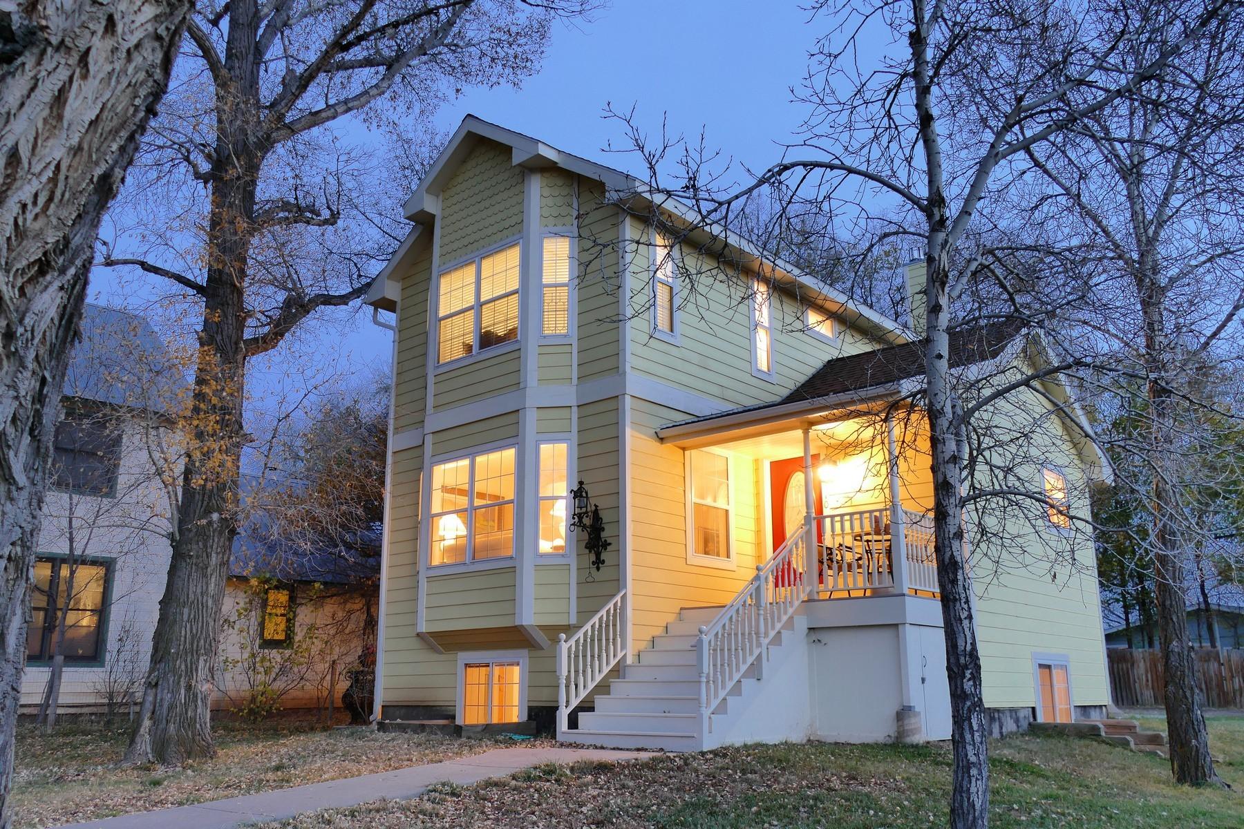 Частный односемейный дом для того Продажа на 1310 Naturita Street Norwood, Колорадо, 81423 Соединенные Штаты