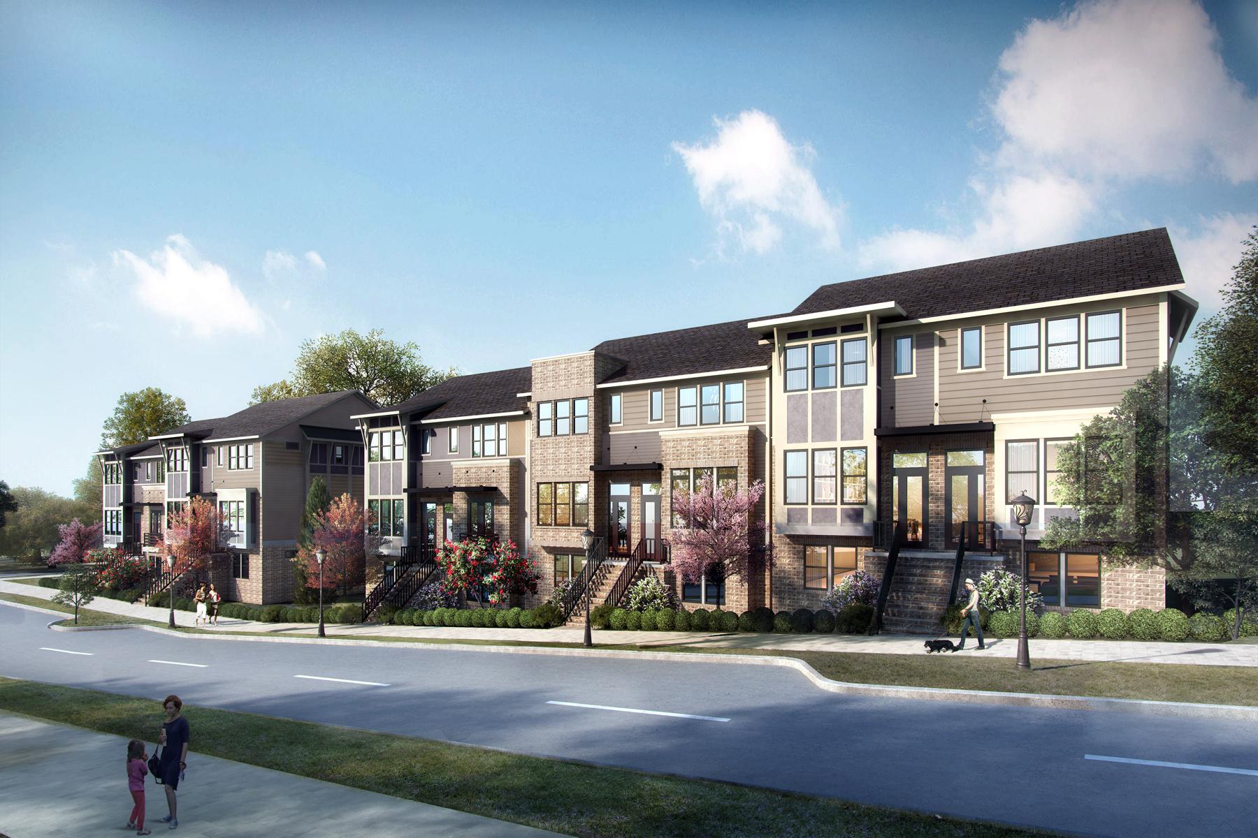 타운하우스 용 매매 에 Luxury Townhome Next To Blackburn Park 3571 Blair Circle Atlanta, 조지아, 30319 미국