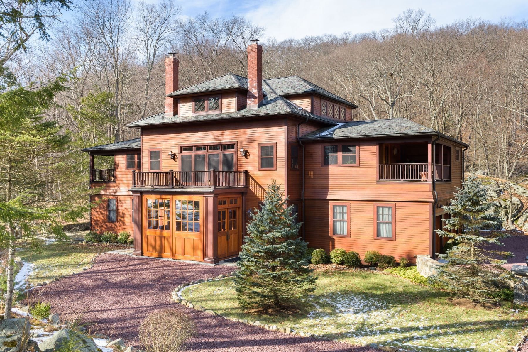 Villa per Vendita alle ore Patterson Brook Carriage House 18 Patterson Brook Rd Tuxedo Park, New York, 10987 Stati Uniti