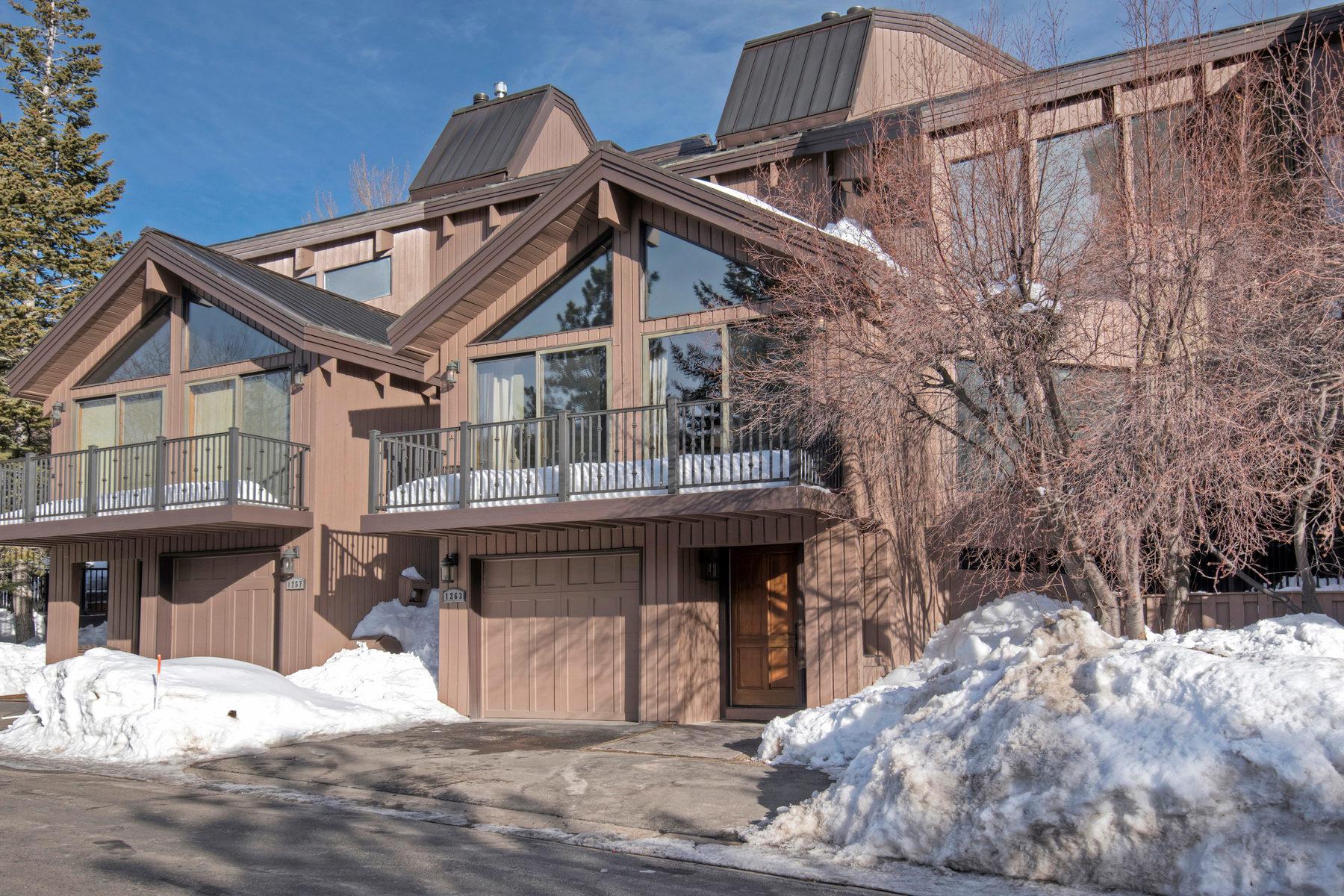 Таунхаус для того Продажа на BEST BUY Lower Deer Valley Four Bedroom Pinnacle-Ski Run Views 1263 Pinnacle Ct Park City, Юта, 84060 Соединенные Штаты