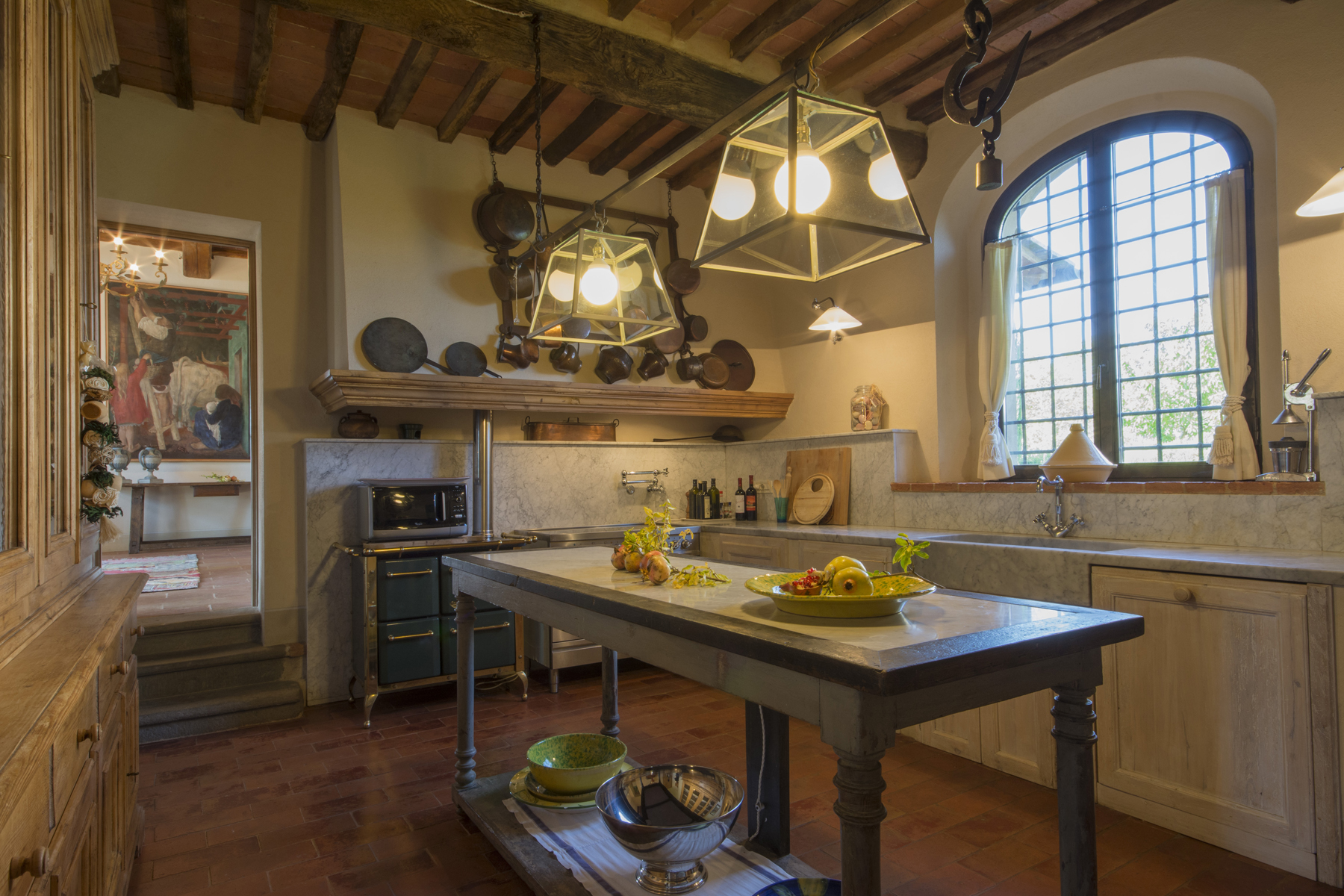 Additional photo for property listing at Magnificent villa in the Tuscan countryside Via di Valdisonzi Crespina, Pisa 56040 Italy