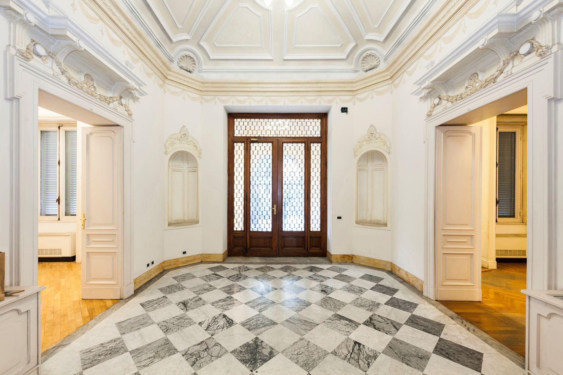 Additional photo for property listing at Majestic Art Deco Villa in Rome's City Center Via Piemonte Rome, Roma 00187 Italia