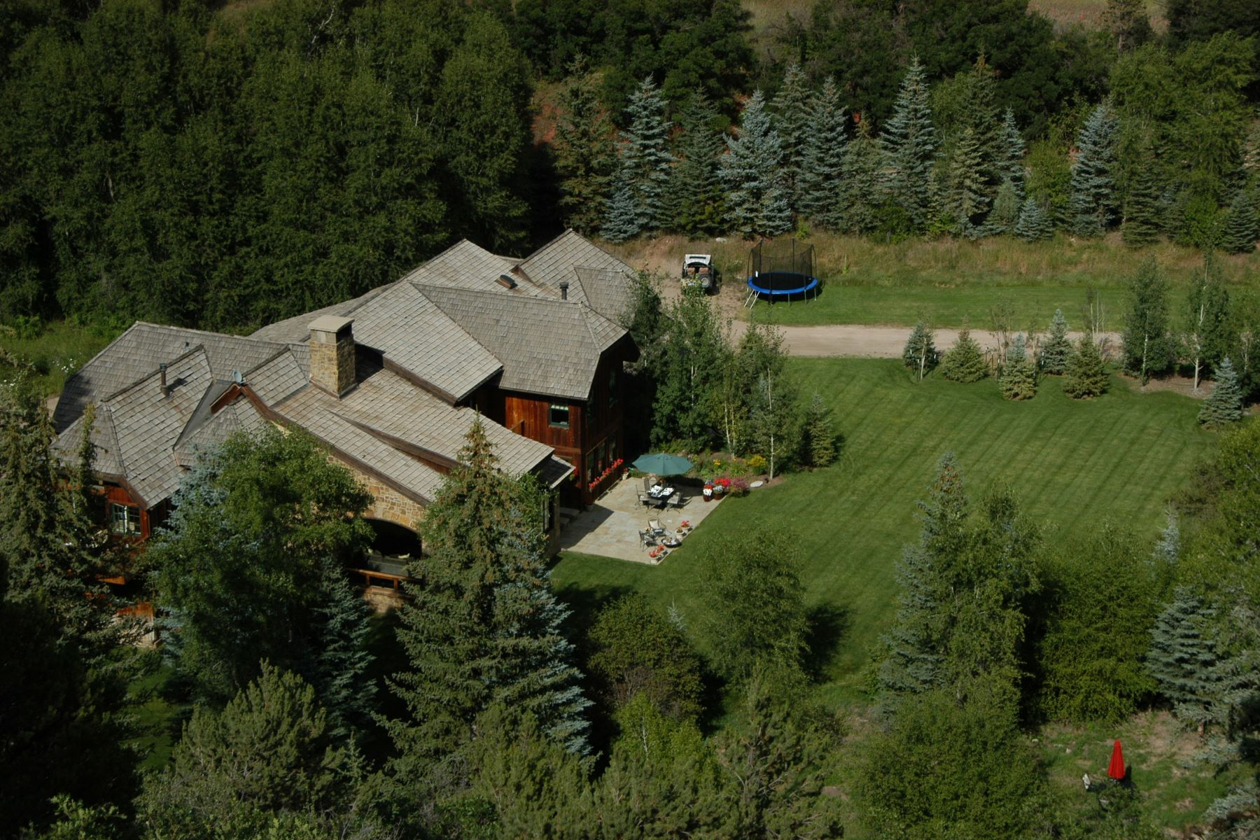 Maison unifamiliale pour l Vente à Snowmass Creek Paradise 333 Snowmass Creek Road, Snowmass, Colorado, 81654 États-Unis