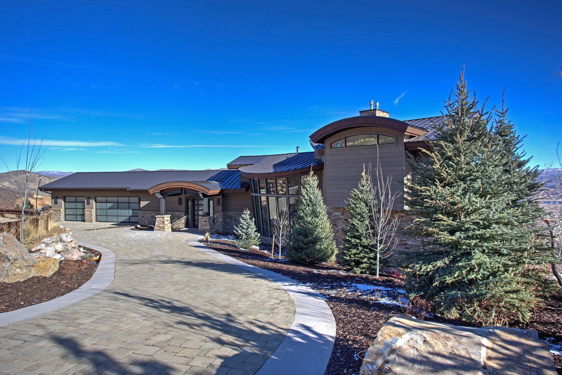 Single Family Home for Sale at New Construction in Deer Crest 2847 W Deer Pointe Dr Park City, Utah 84060 United States