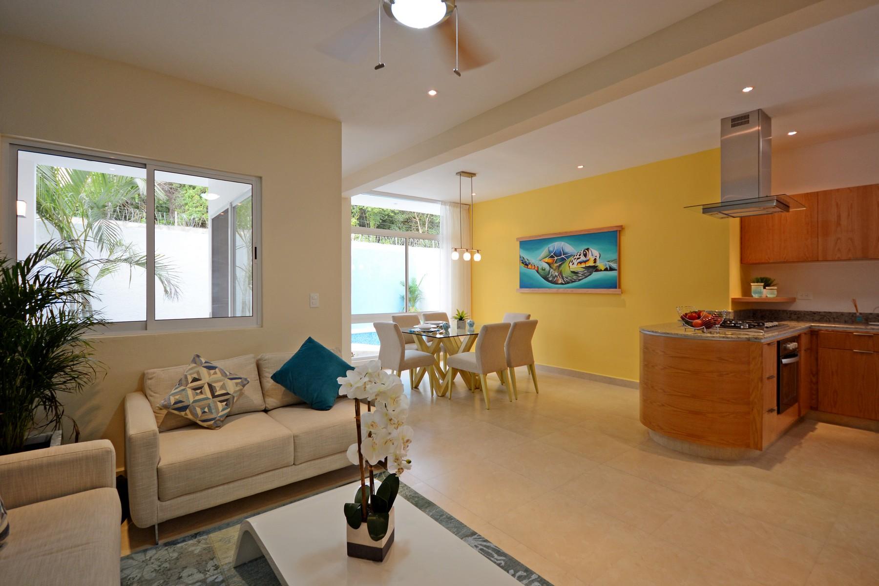 Single Family Home for Sale at LUXURY VILLA IN A GATED COMMUNITY Privada Orquídeas Selvamar Playa Del Carmen, Quintana Roo, 77710 Mexico