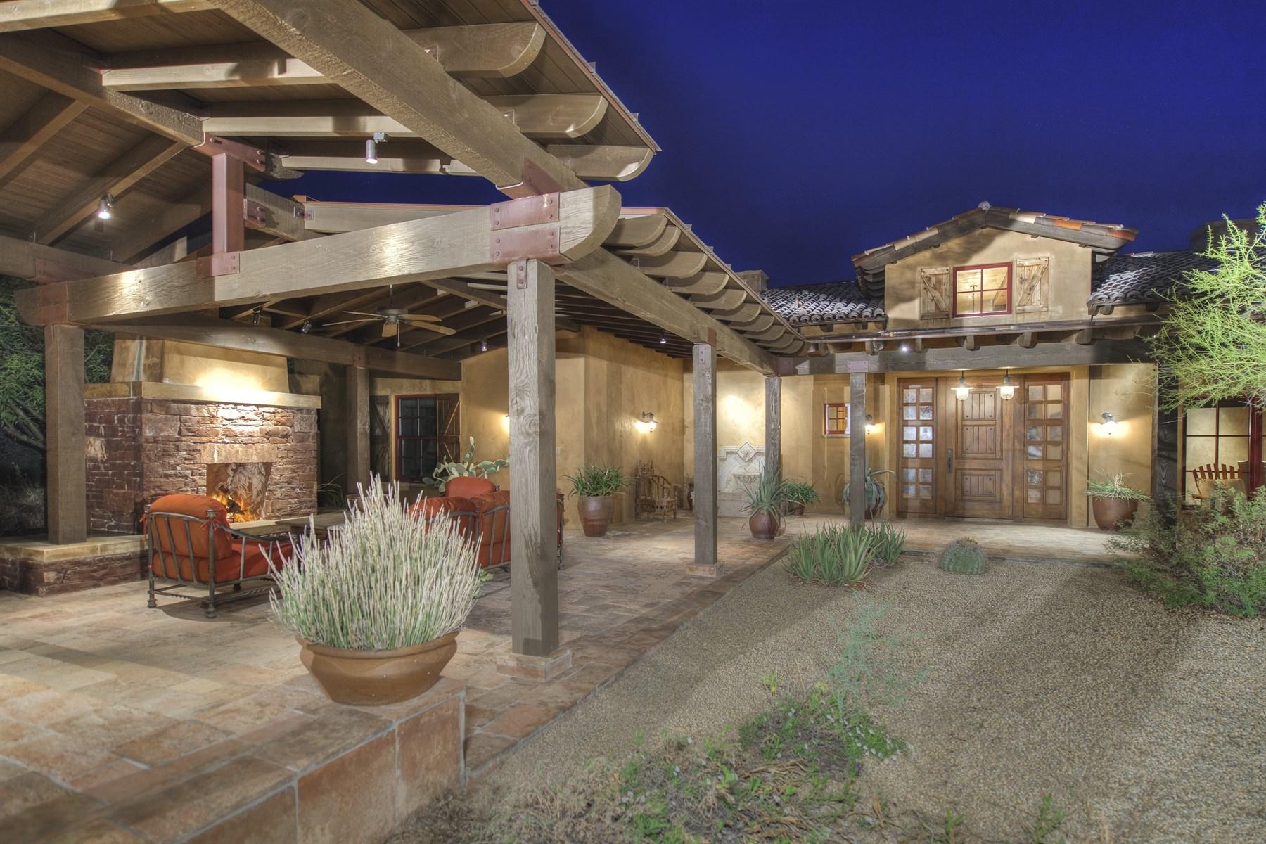 Einfamilienhaus für Verkauf beim Impeccable desert estate located in the guard-gated community of Whisper Rock 7899 E Whisper Rock Trl Scottsdale, Arizona, 85266 Vereinigte Staaten