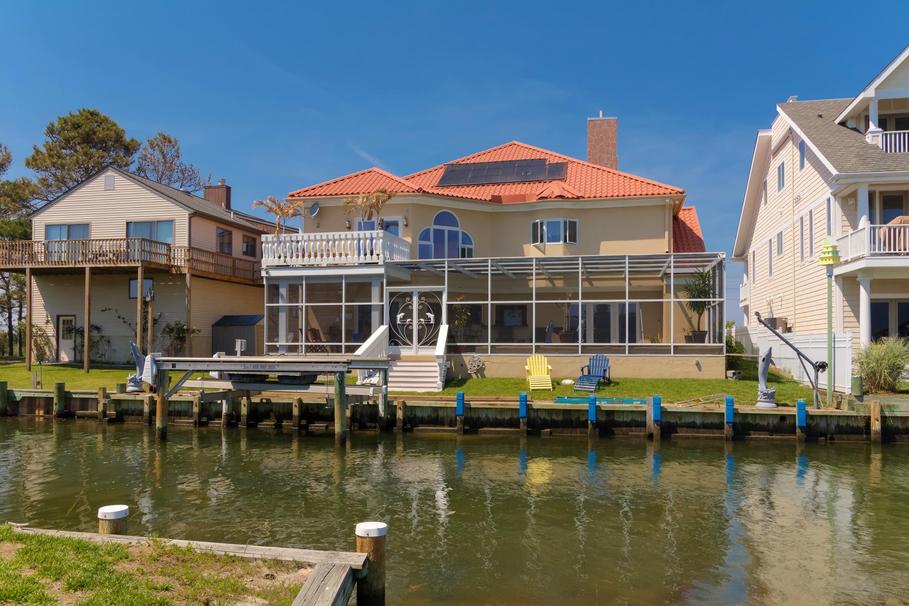 Частный односемейный дом для того Продажа на 12608 Selsey Rd, Ocean City, MD 21842 Ocean City, Мэриленд 21842 Соединенные Штаты