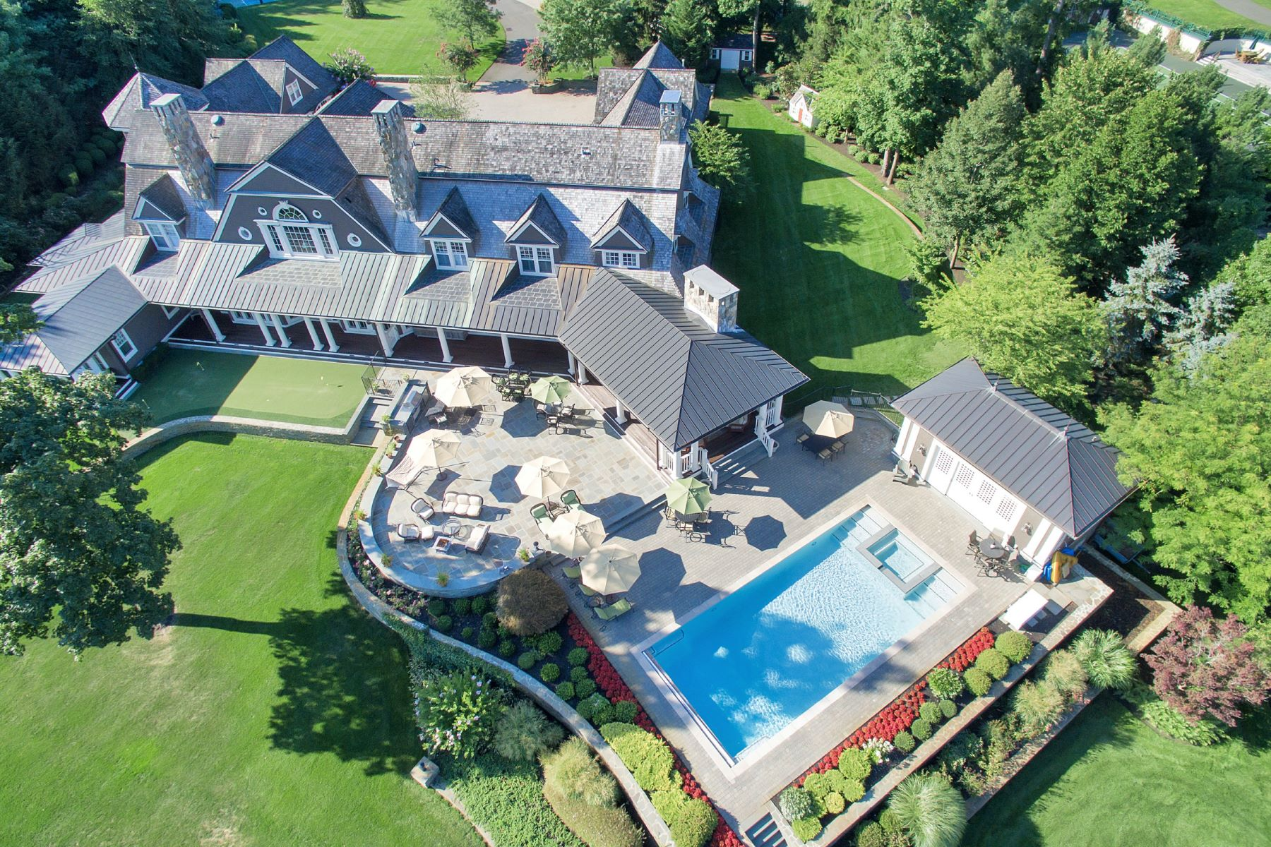 Casa Unifamiliar por un Venta en Riverblades Estate 74 West River Road Rumson, Nueva Jersey, 07760 Estados Unidos