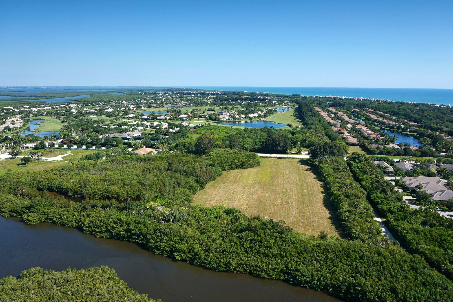 토지 용 매매 에 Rare Waterfront Development C R 510 Vero Beach, 플로리다, 32963 미국