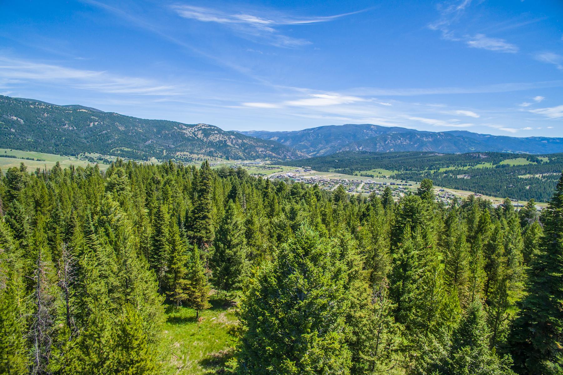Земля для того Продажа на Gallatin Highlands Lot 3 Sandhill Road Lot 3 Big Sky, Монтана, 59716 Соединенные Штаты