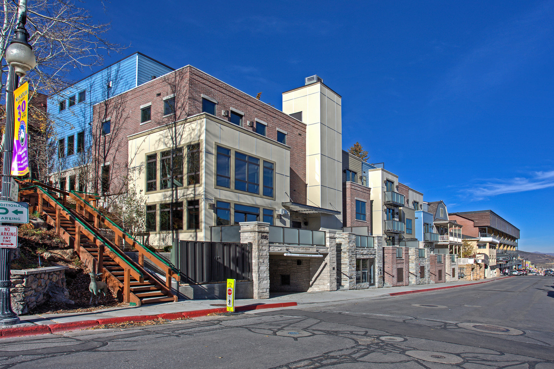 sales property at Extraordinary Luxury, Privacy, and Total Access at the Top of Main St.