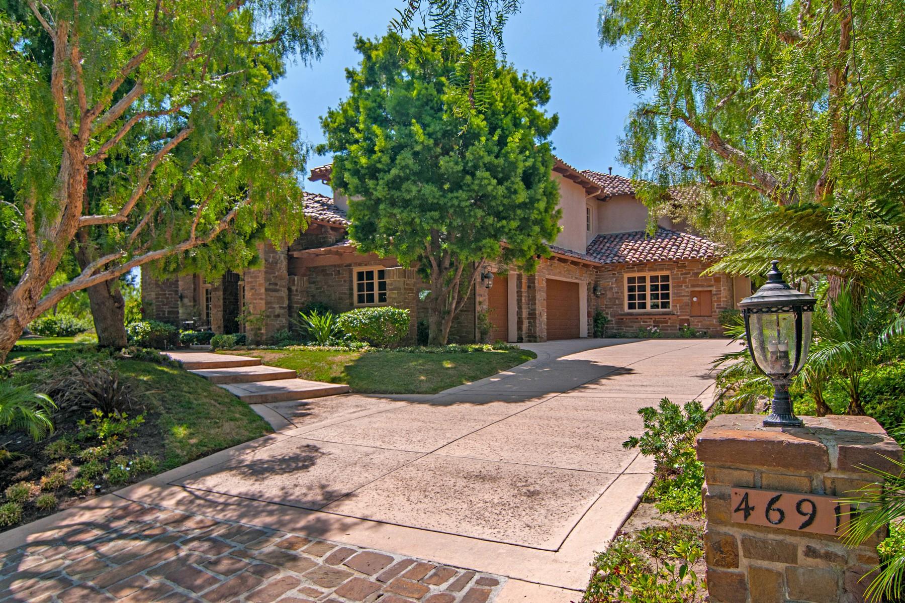 Частный односемейный дом для того Аренда на 4691 Rancho Laguna Bend San Diego, 92130 Соединенные Штаты