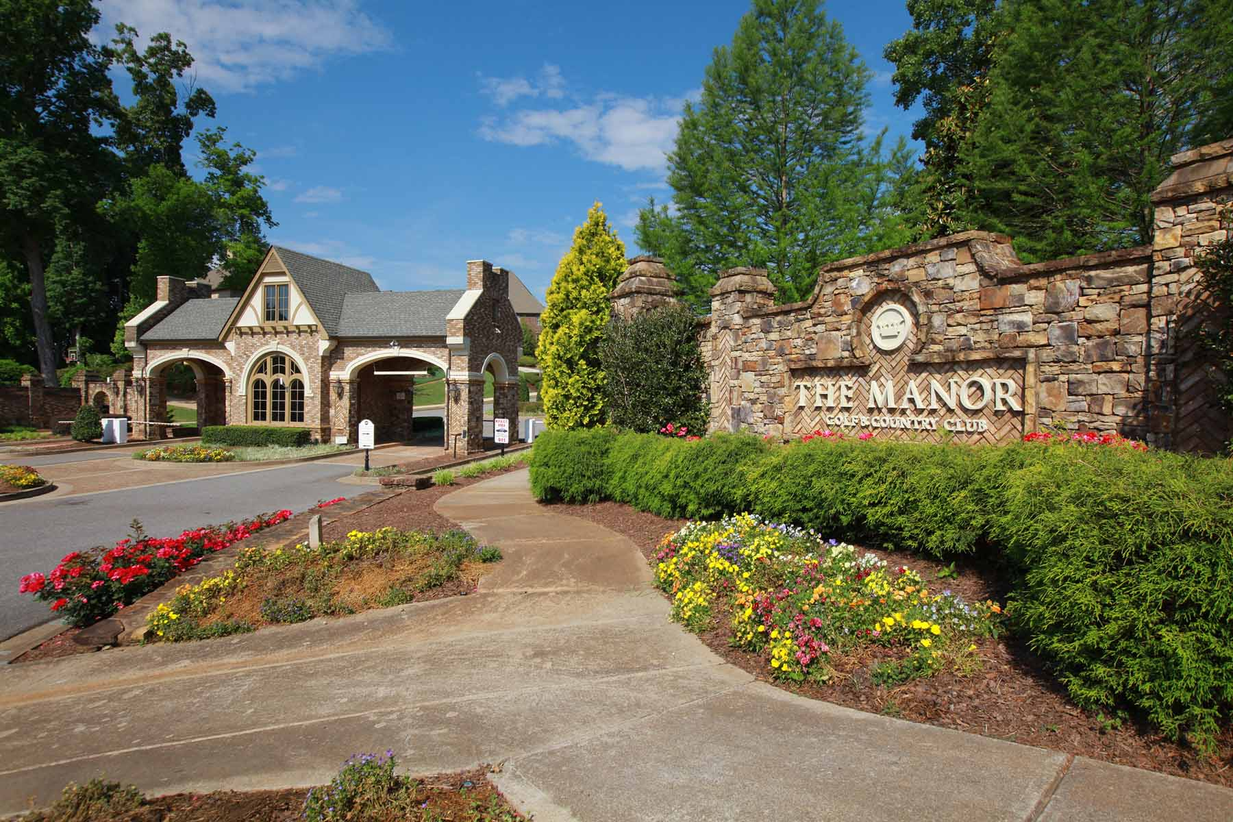 Single Family Home for Sale at Grand European Estate With Expansive Views of the Fairways 16025 Manor Club Drive Milton, Georgia 30004 United States