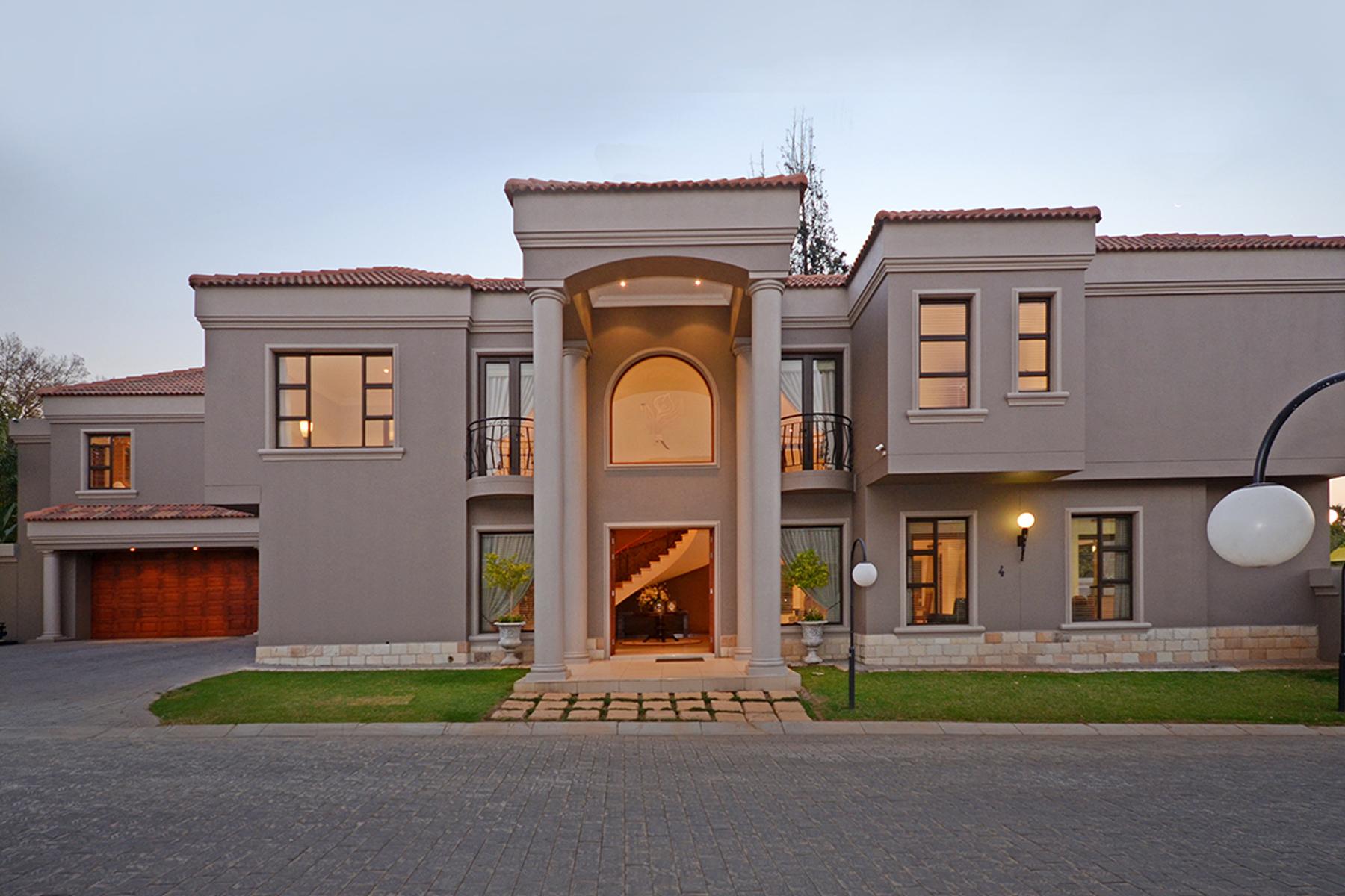 Villa per Vendita alle ore Villa D'ORO, Oriel Johannesburg, Gauteng, 2007 Sudafrica