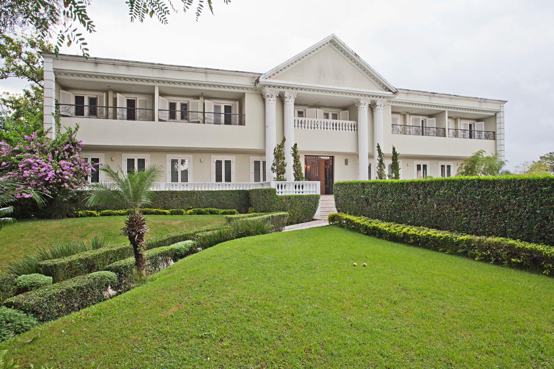 Single Family Home for Sale at Stunning house with private tennis court Rua General Pereira da Cunha Sao Paulo, Sao Paulo, 05692060 Brazil