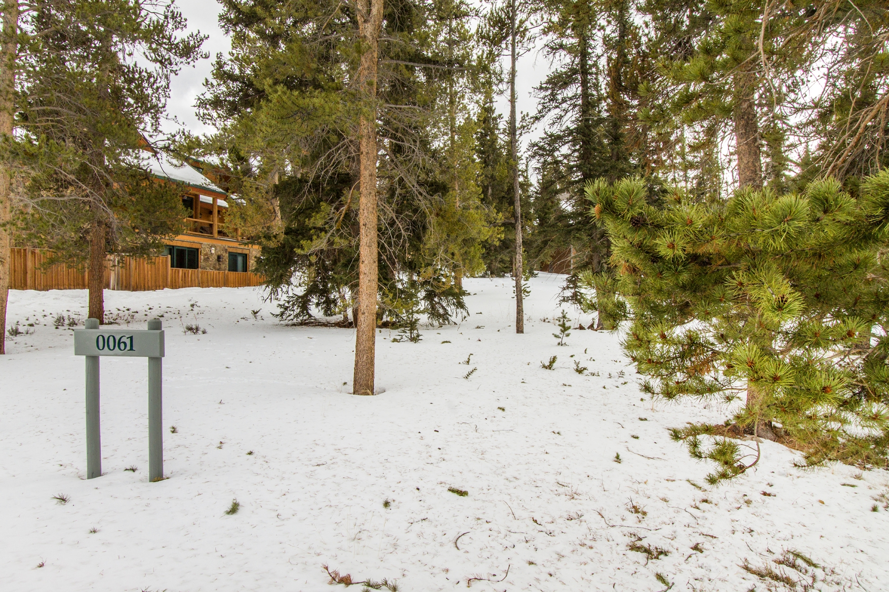 Terrain pour l Vente à One Of The Best Lots On The Market Today 61 Goldenrod Circle Lot E-18 Keystone, Colorado, 80435 États-Unis