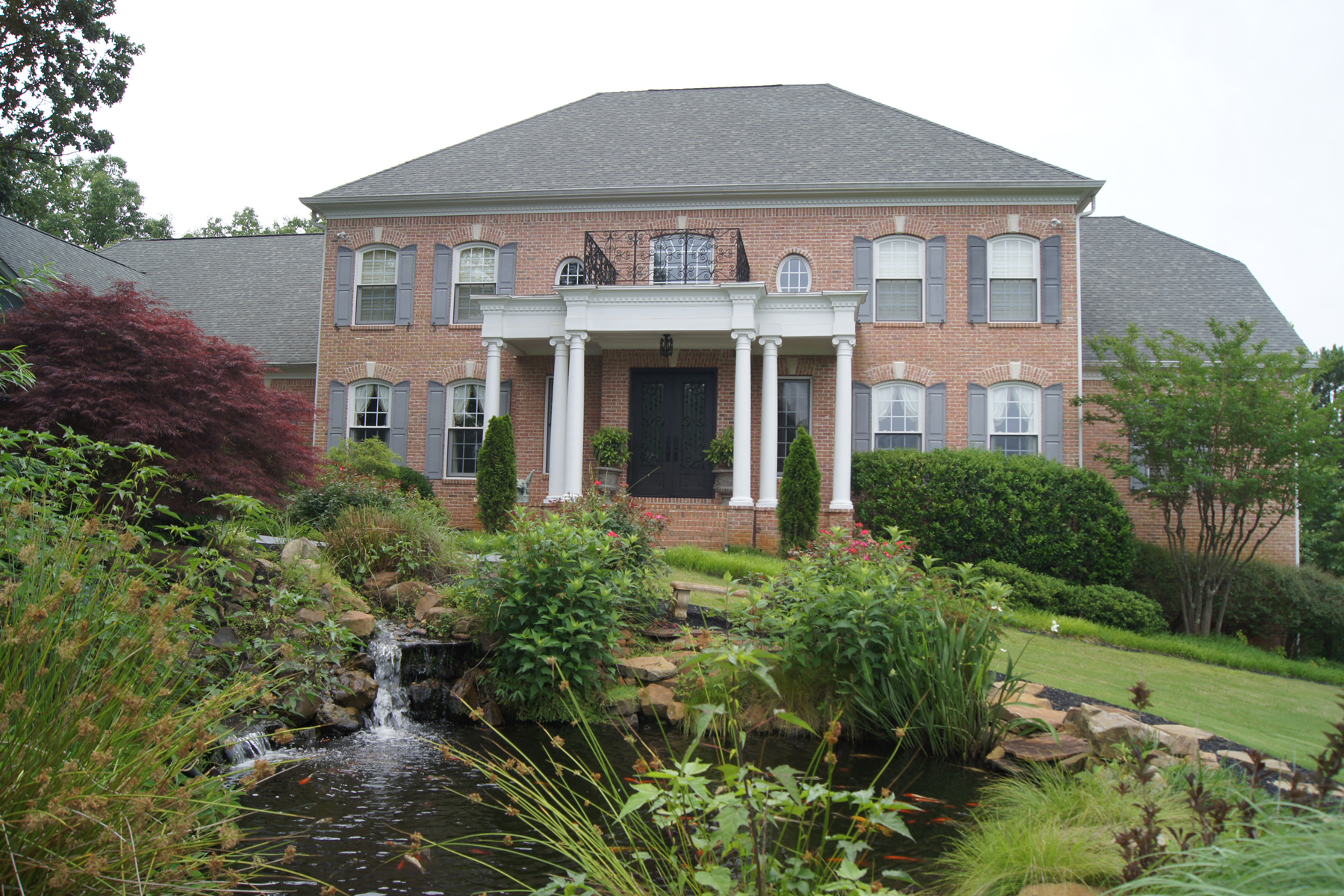 Single Family Home for Active at Private Gated Community 28 Hawks Branch Lane White, Georgia 30184 United States