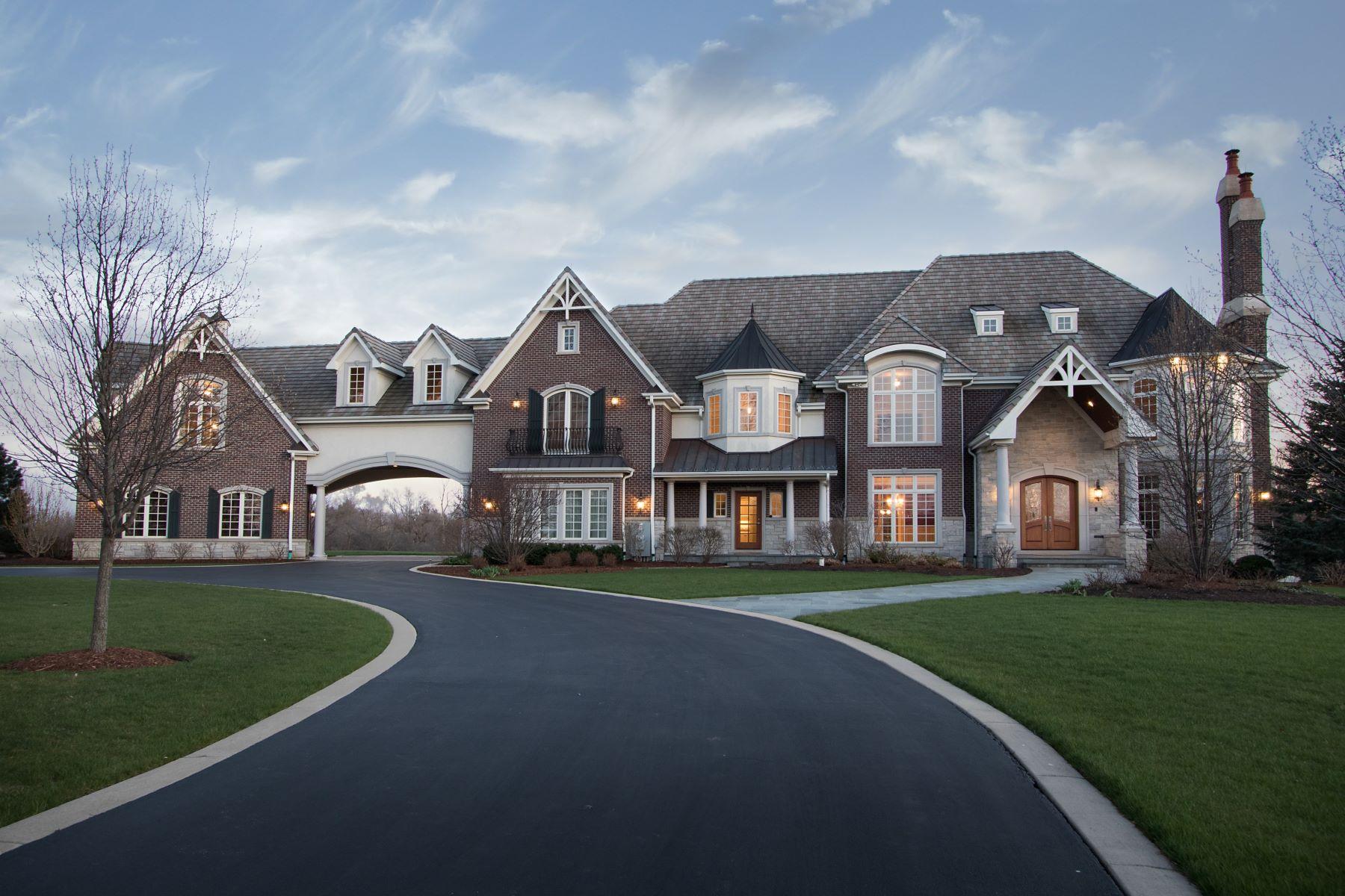 Maison unifamiliale pour l Vente à 73 Otis Road Barrington Hills Barrington Hills, Illinois, 60010 États-Unis