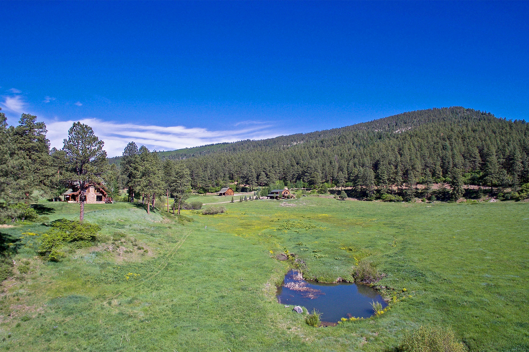 Casa Unifamiliar por un Venta en Old Ponderosa Ranch 10676 CR 502 Bayfield, Colorado 81122 Estados Unidos