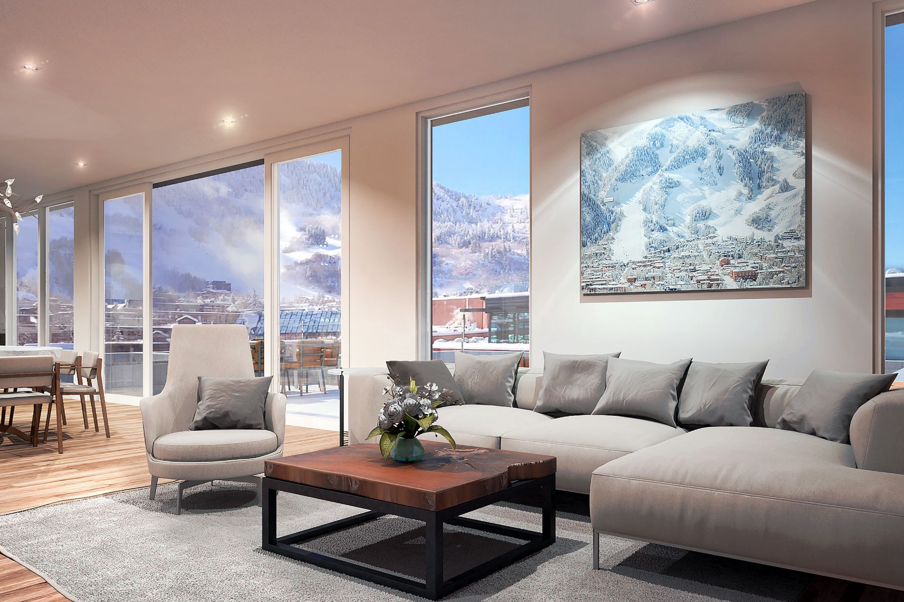 Condominium for Active at Downtown Aspen Penthouse 601 E Hyman Avenue Aspen, Colorado 81611 United States