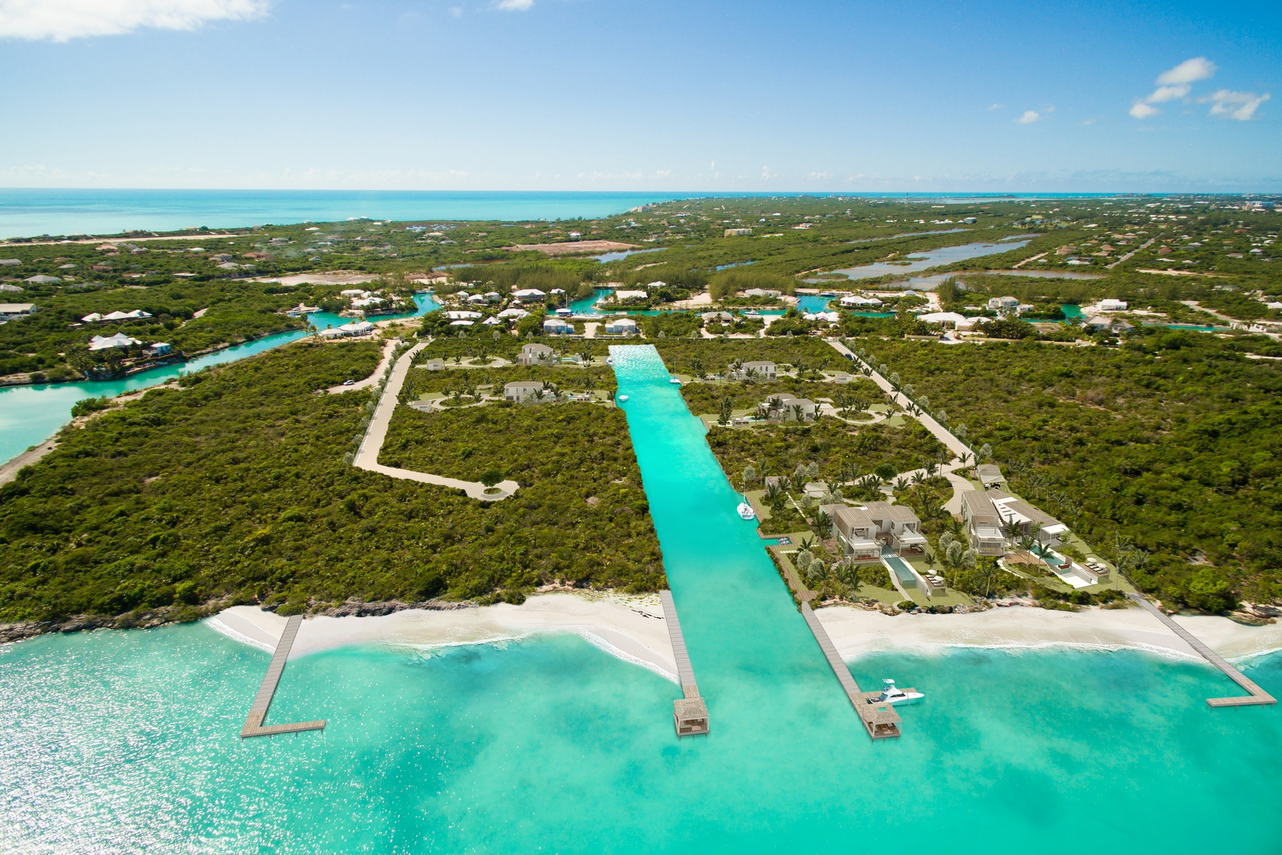 Additional photo for property listing at Pavilion House - Beachfront Lot 1 Blue Cay Estate, Leeward, Providenciales Îles Turques Et Caïques