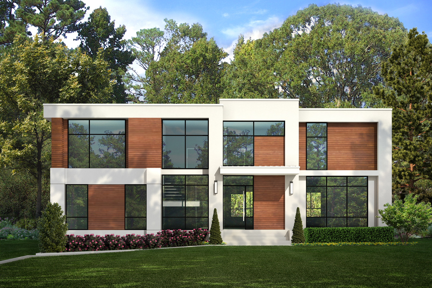Villa per Vendita alle ore Exquisite Contemporary 1254 Brook Forest Drive, Atlanta, Georgia, 30324 Stati Uniti