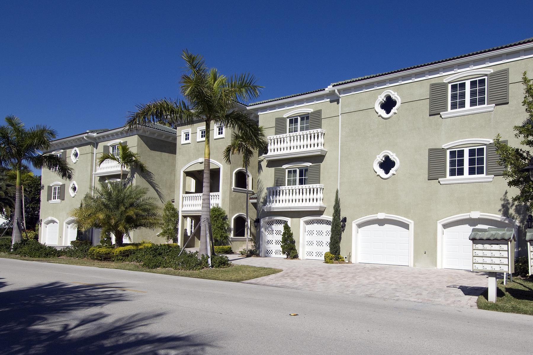 Condominio por un Venta en Spacious Canalfront Condominium at Ocean Reef 9 Pumpkin Cay Road Unit B Ocean Reef Community, Key Largo, Florida, 33037 Estados Unidos